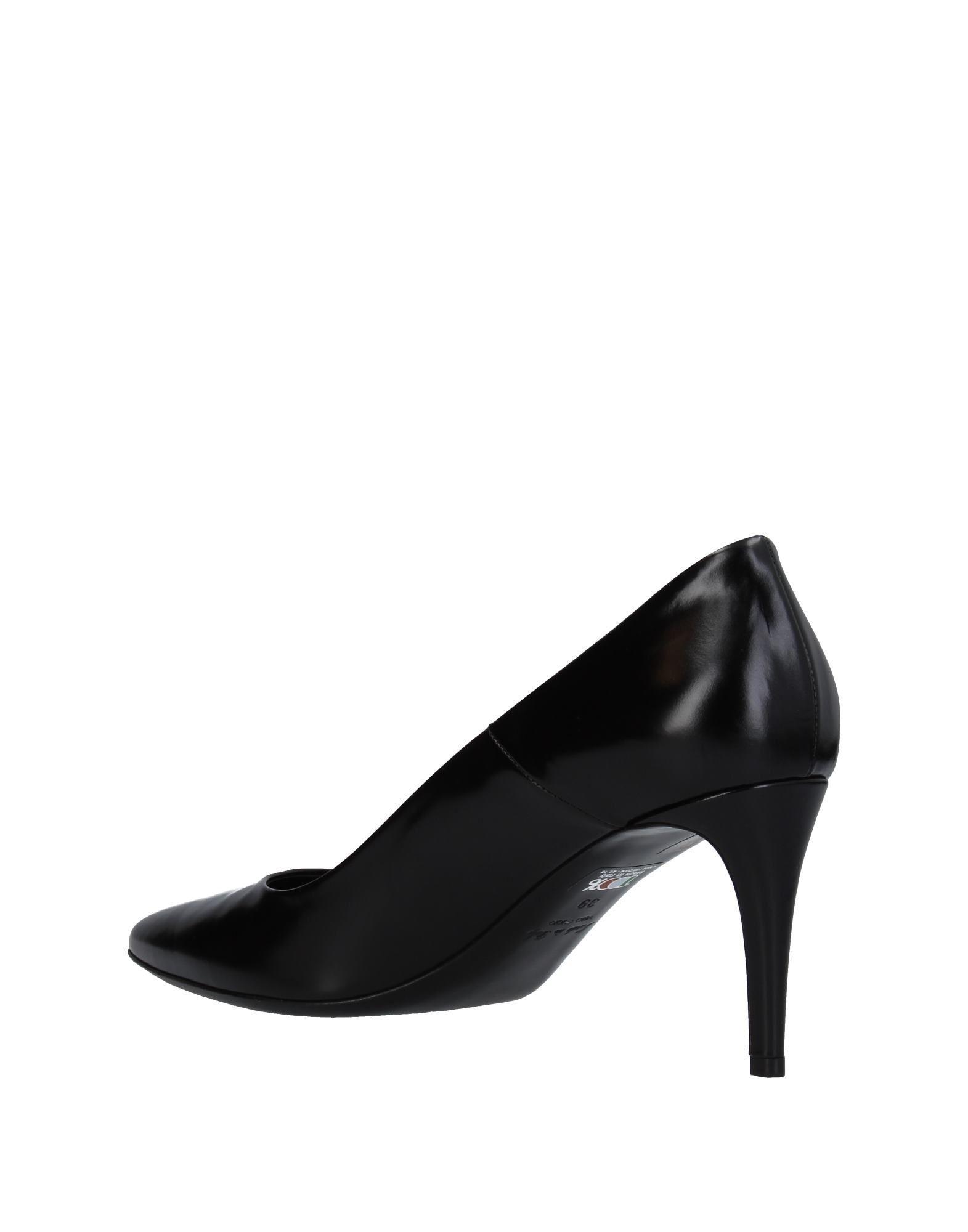 Zapatos de salón Maria Cristina de Cuero de color Negro