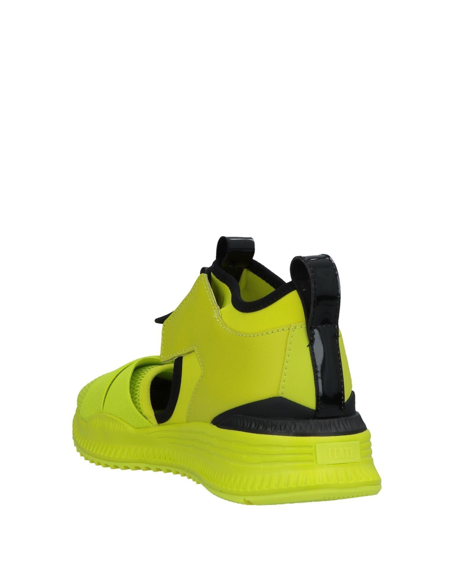 Sneakers abotinadas Fenty de color Verde