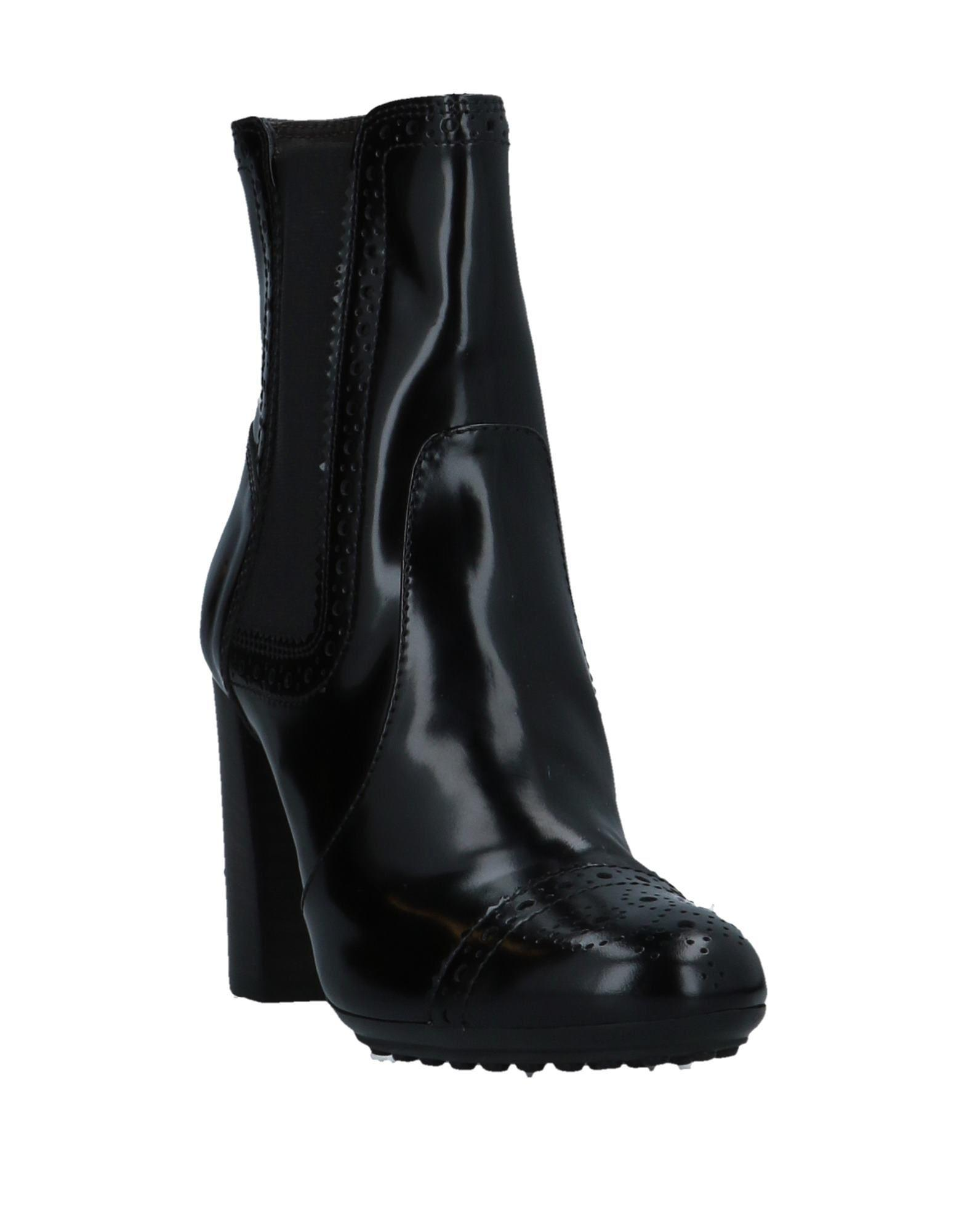 Tod's Rubber Ankle Boots in Black