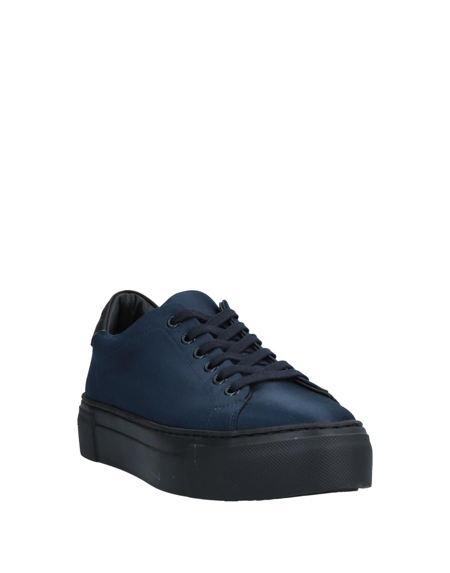 Pinko Satin Low-tops & Sneakers in Dark Blue (Blue)