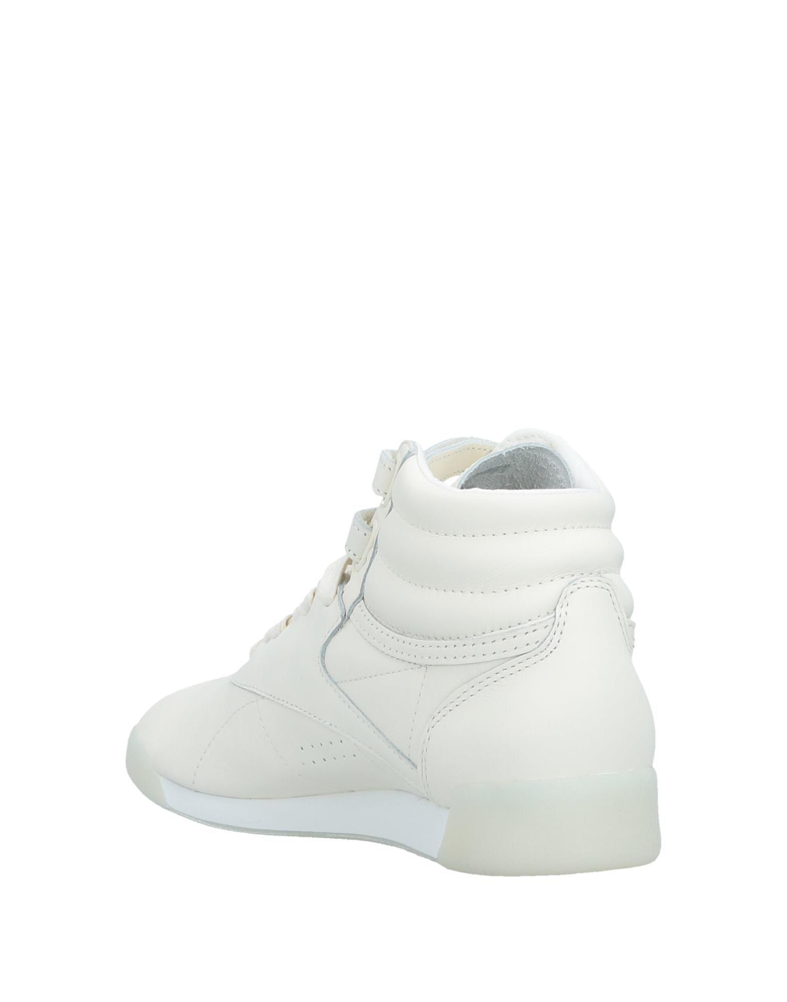 Reebok Leather High-tops & Sneakers in Ivory (White)