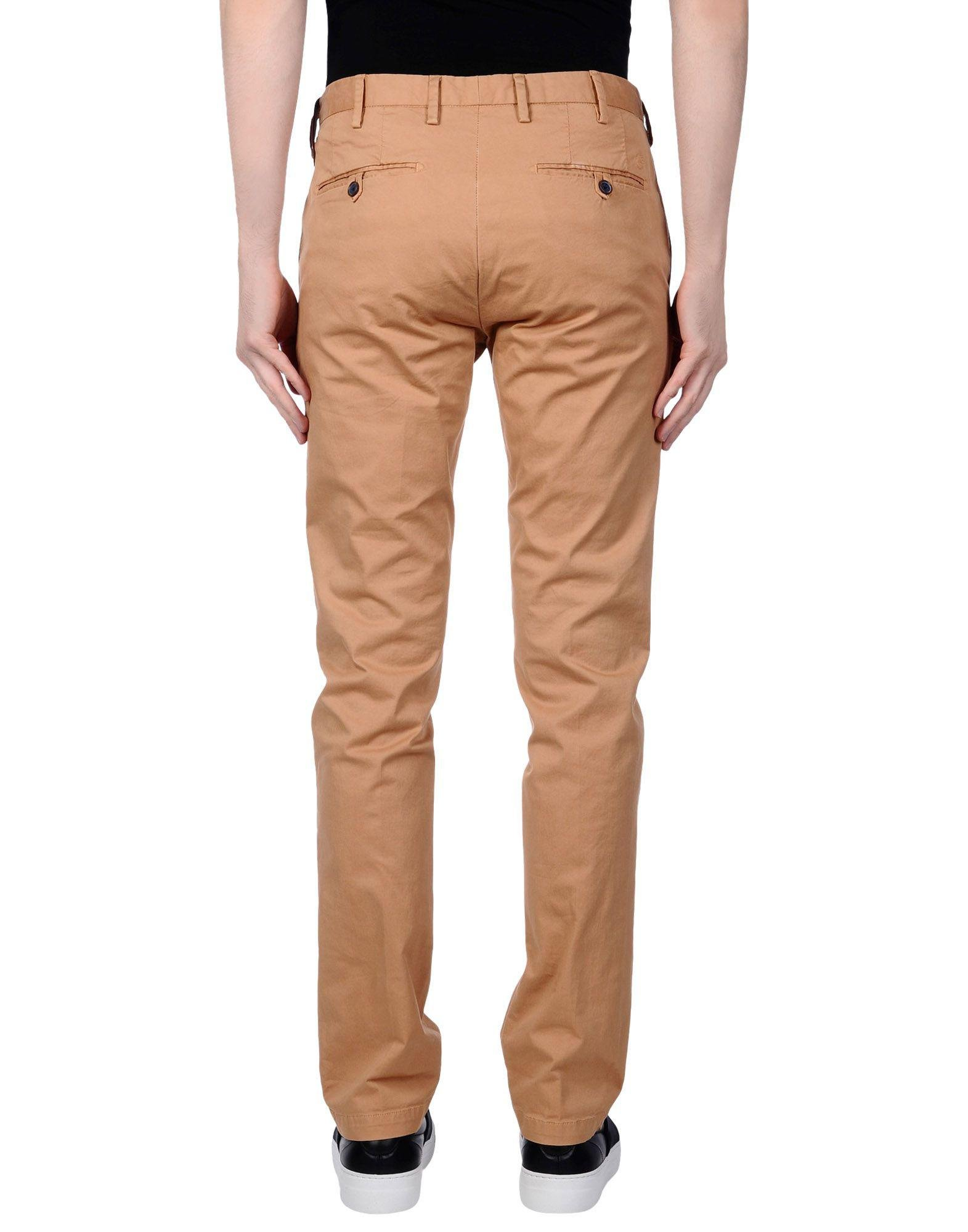 AT.P.CO Cotton Casual Trouser in Camel (Natural) for Men