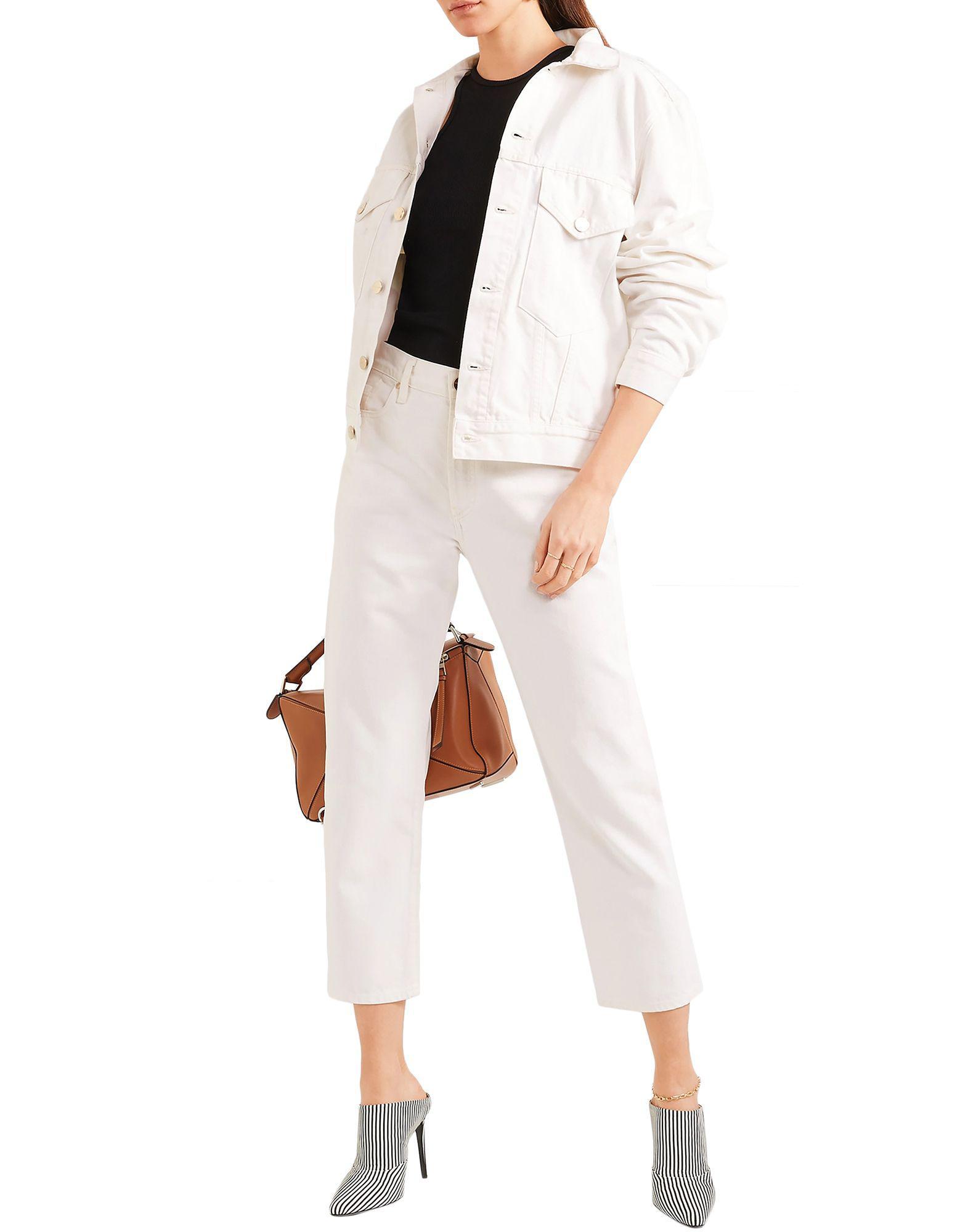 Pantalones vaqueros Goldsign de Denim de color Blanco