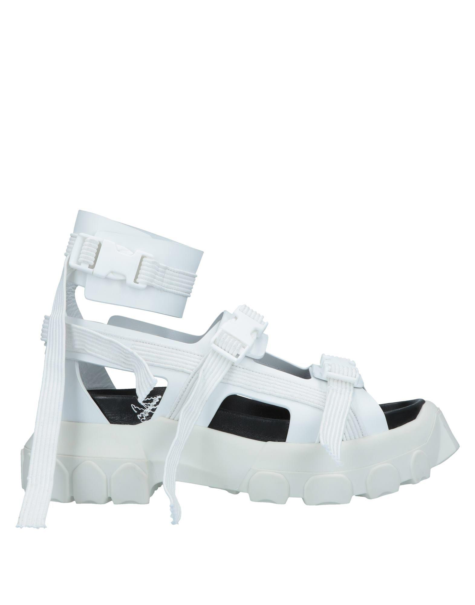 3155beab7352 Lyst - Rick Owens Sandals in White