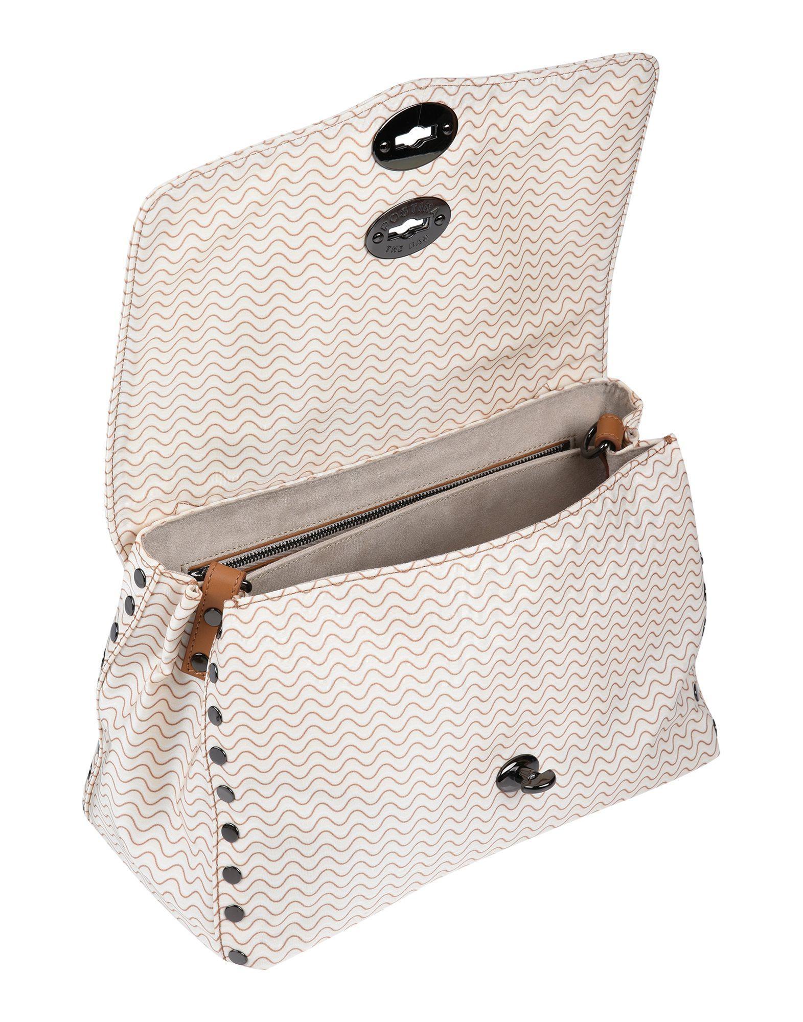 Zanellato Leder Handtaschen in Weiß tRJ6h