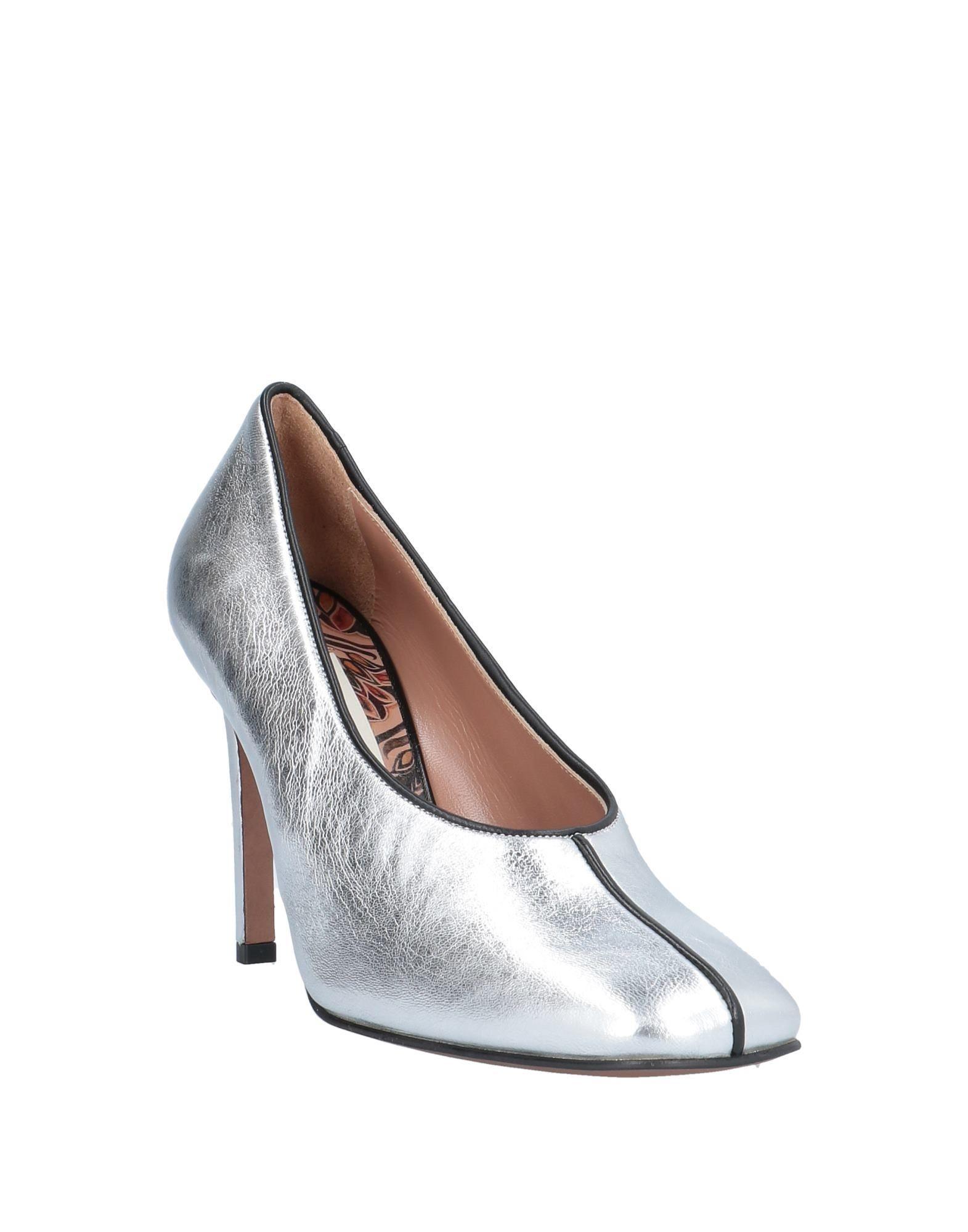 Zapatos de salón L'Autre Chose de Cuero de color Metálico