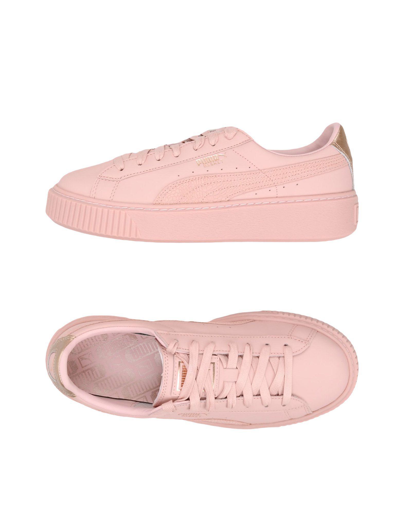 puma sneakers rosa