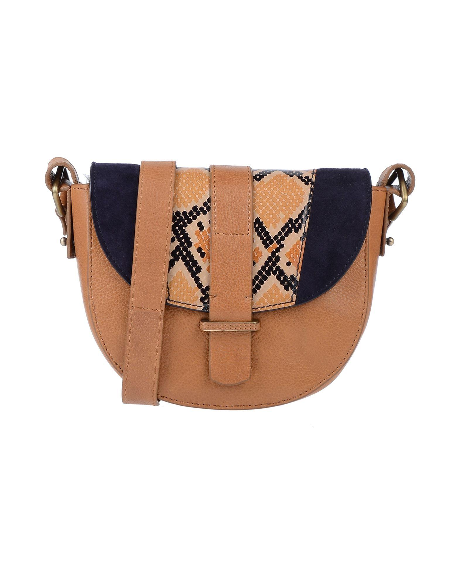 687033be2c Lyst - Sessun Cross-body Bag in Brown