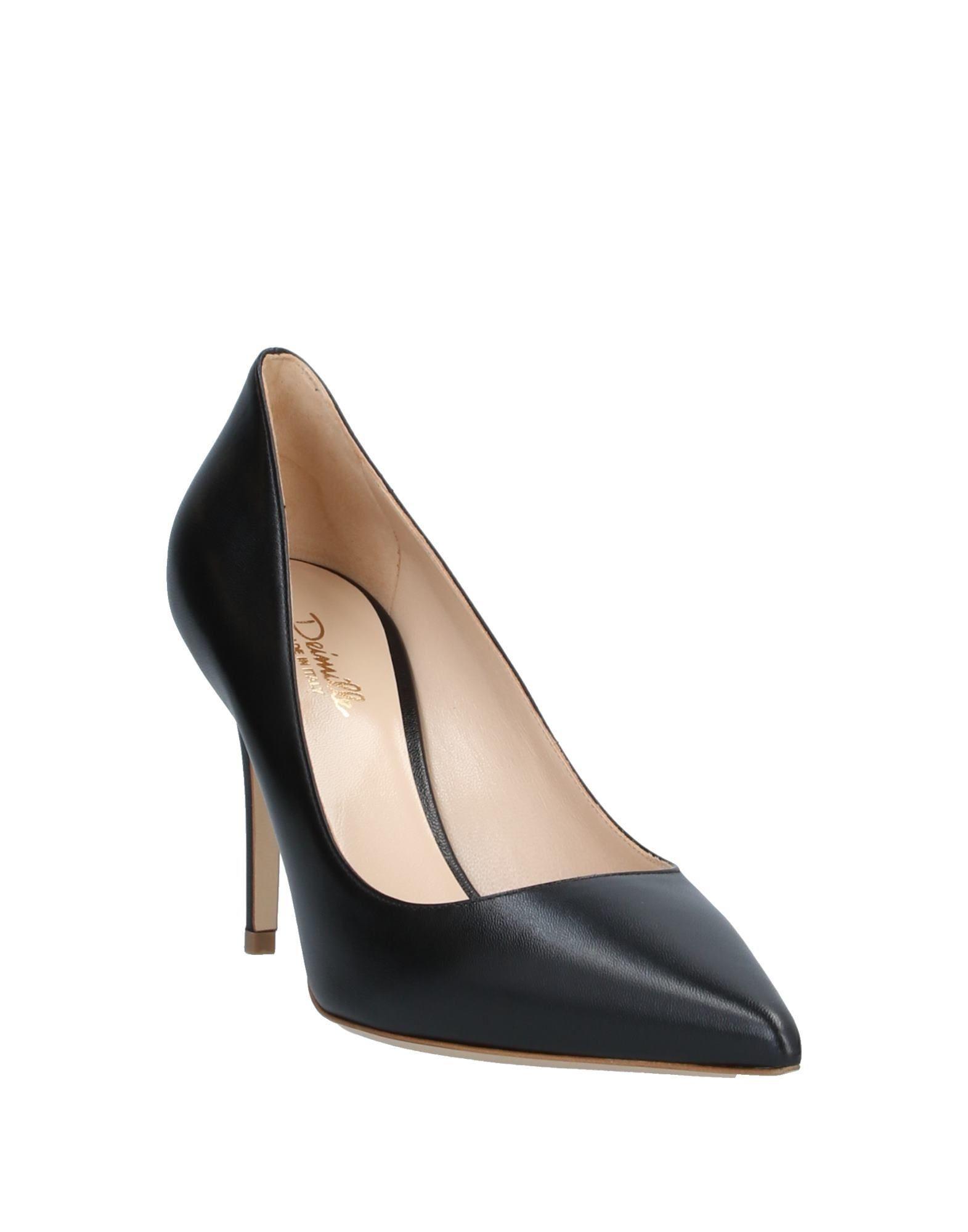 Zapatos de salón Deimille de Cuero de color Negro