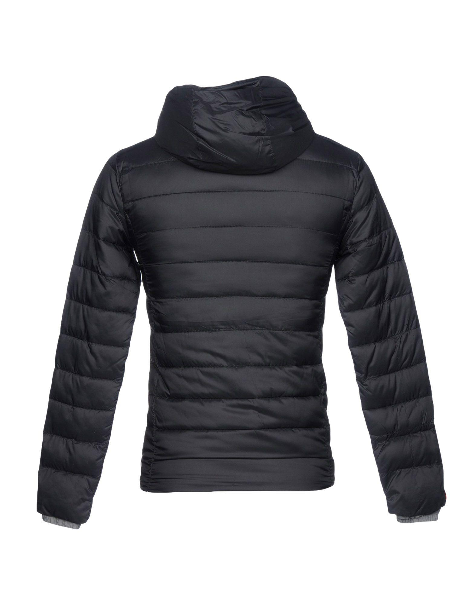 Superdry Synthetic Down Jacket in Black for Men