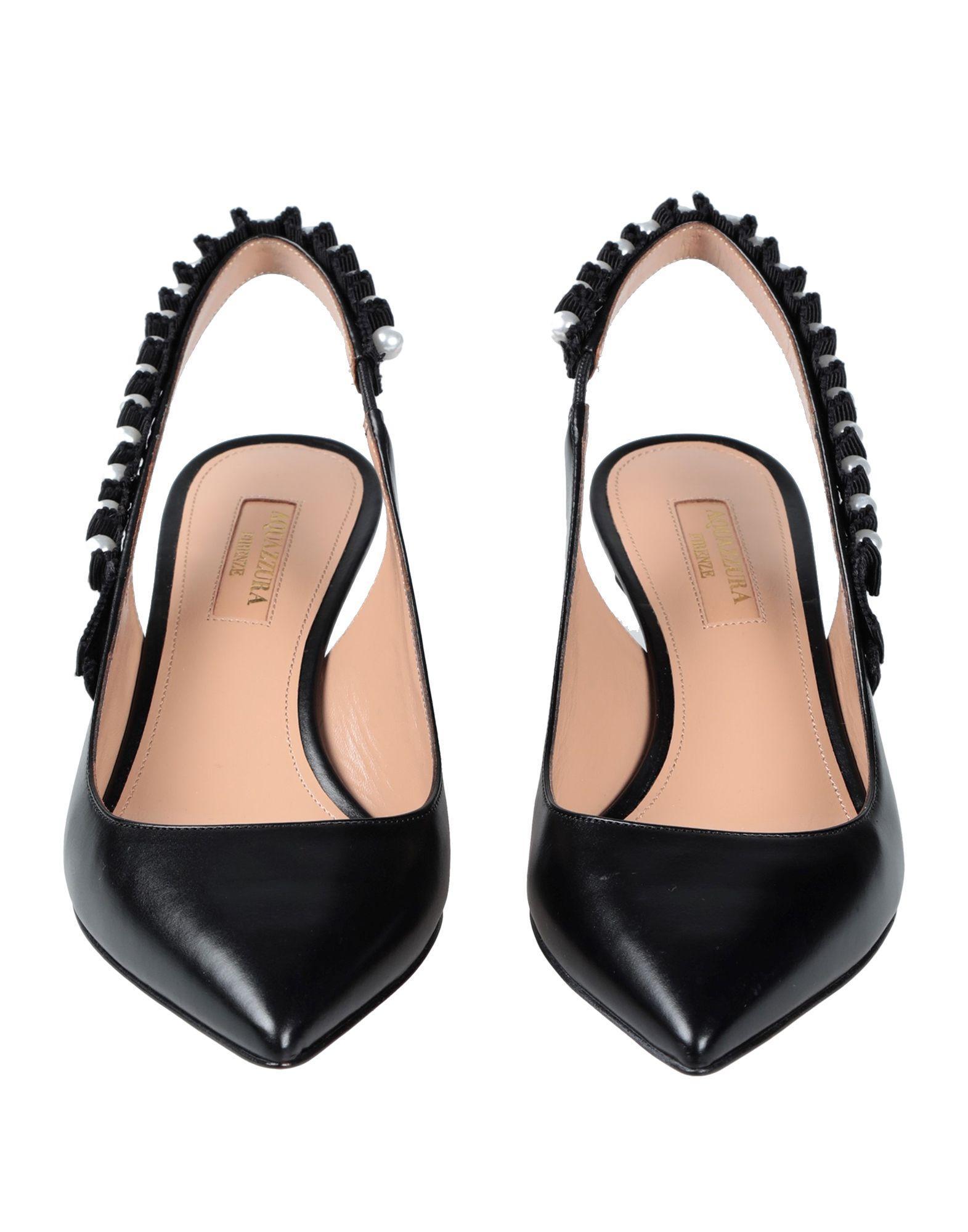 Zapatos de salón Aquazzura de color Negro