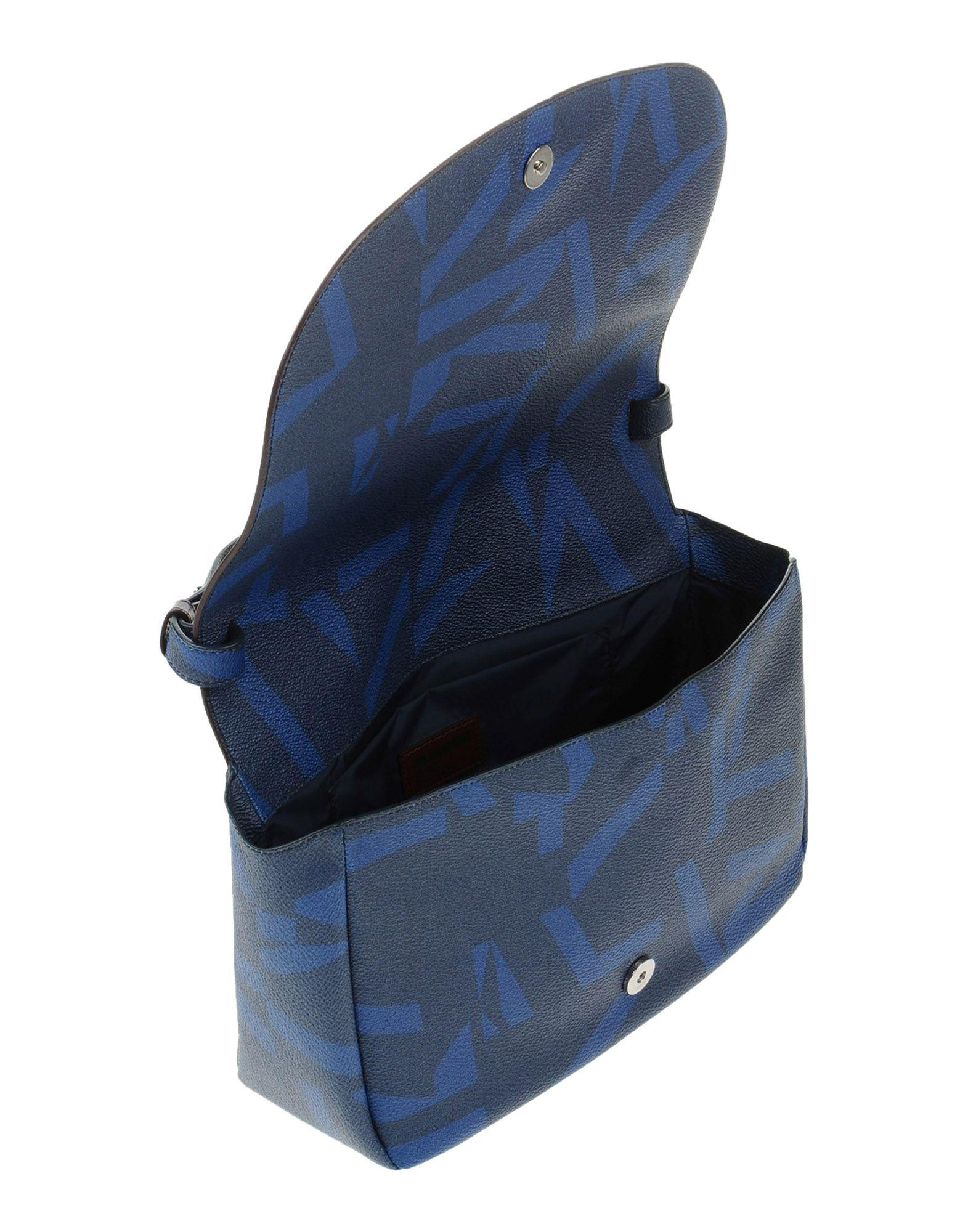 Jil Sander Navy Leather Cross-body Bags