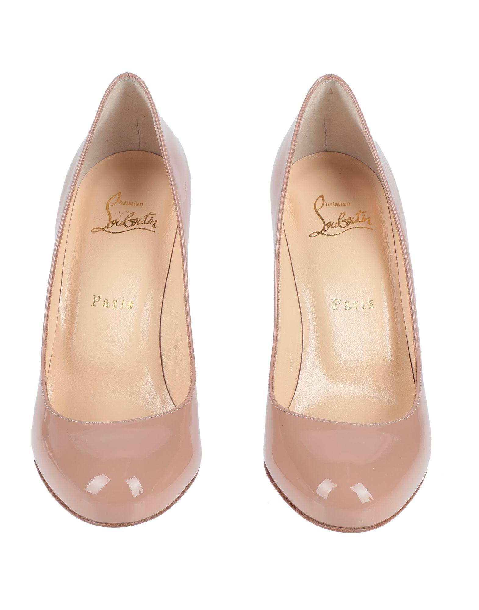 Zapatos de salón Christian Louboutin de Cuero de color Rosa