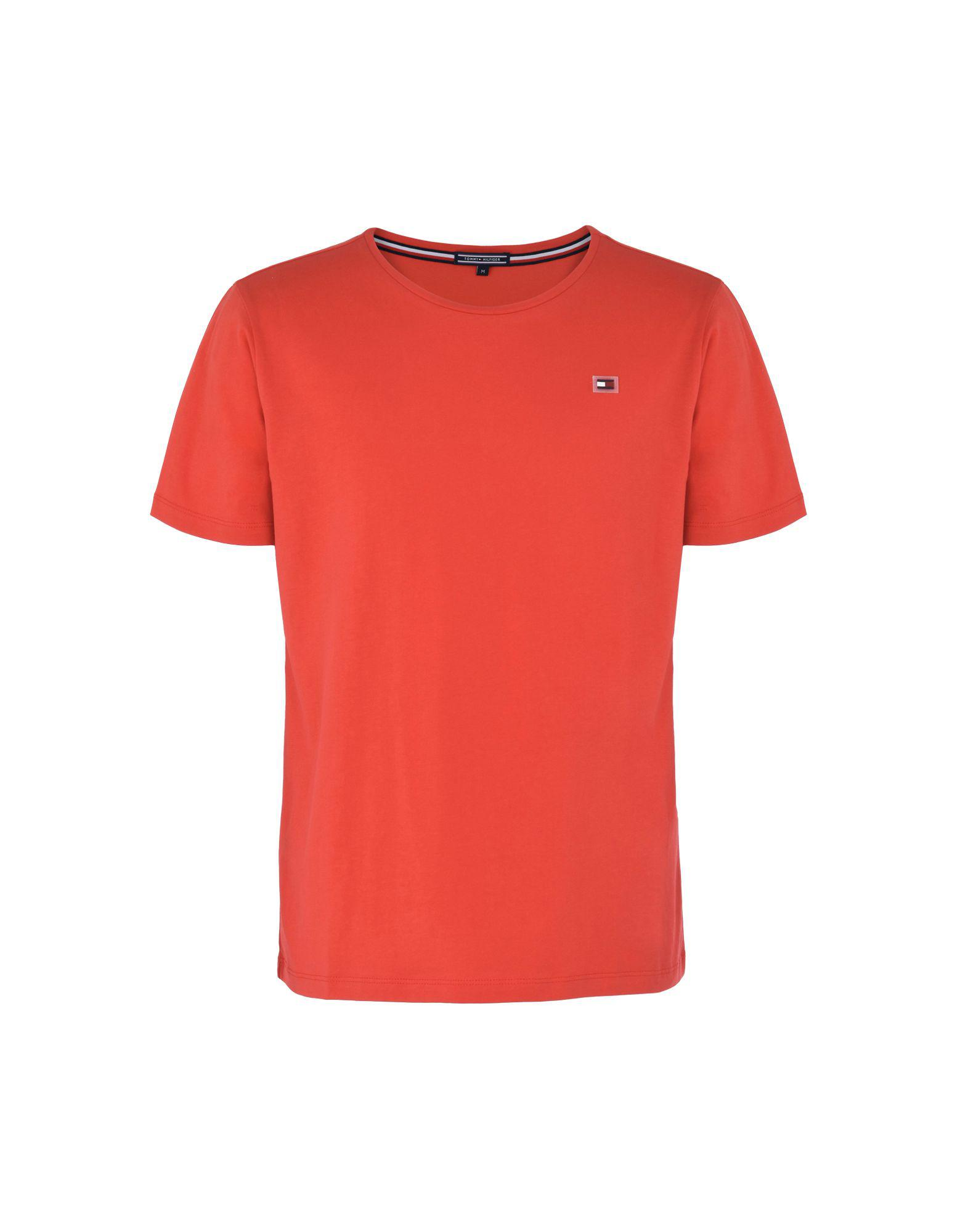 a9e5d1a8 Tommy Hilfiger T-shirt in Red for Men - Lyst