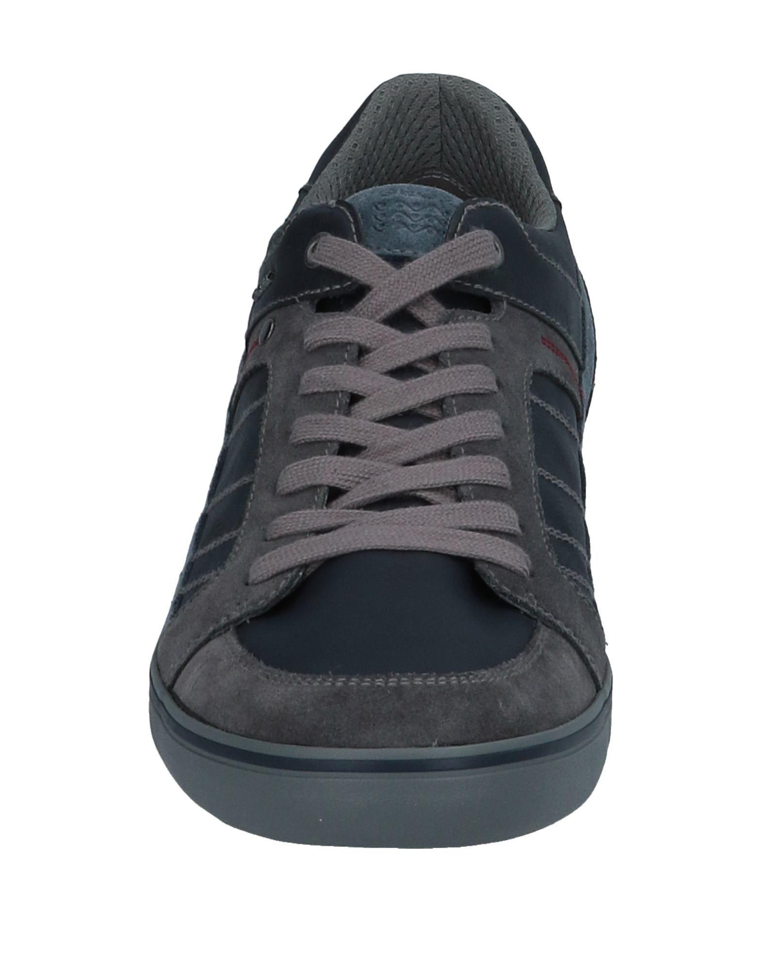 Sneakers & Deportivas Geox de Cuero de color Azul para hombre