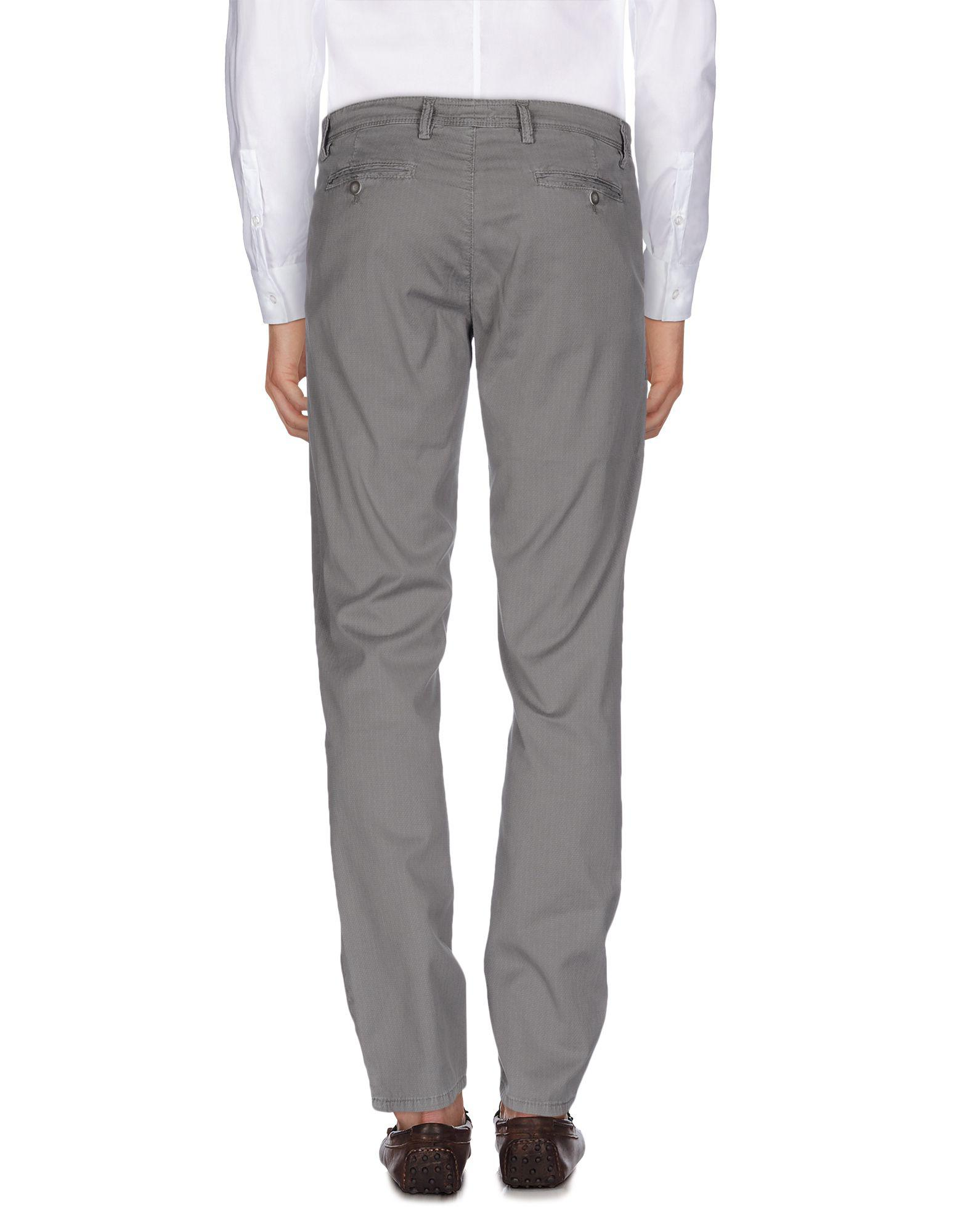 Nicwave Cotton Casual Pants in Grey (Grey) for Men