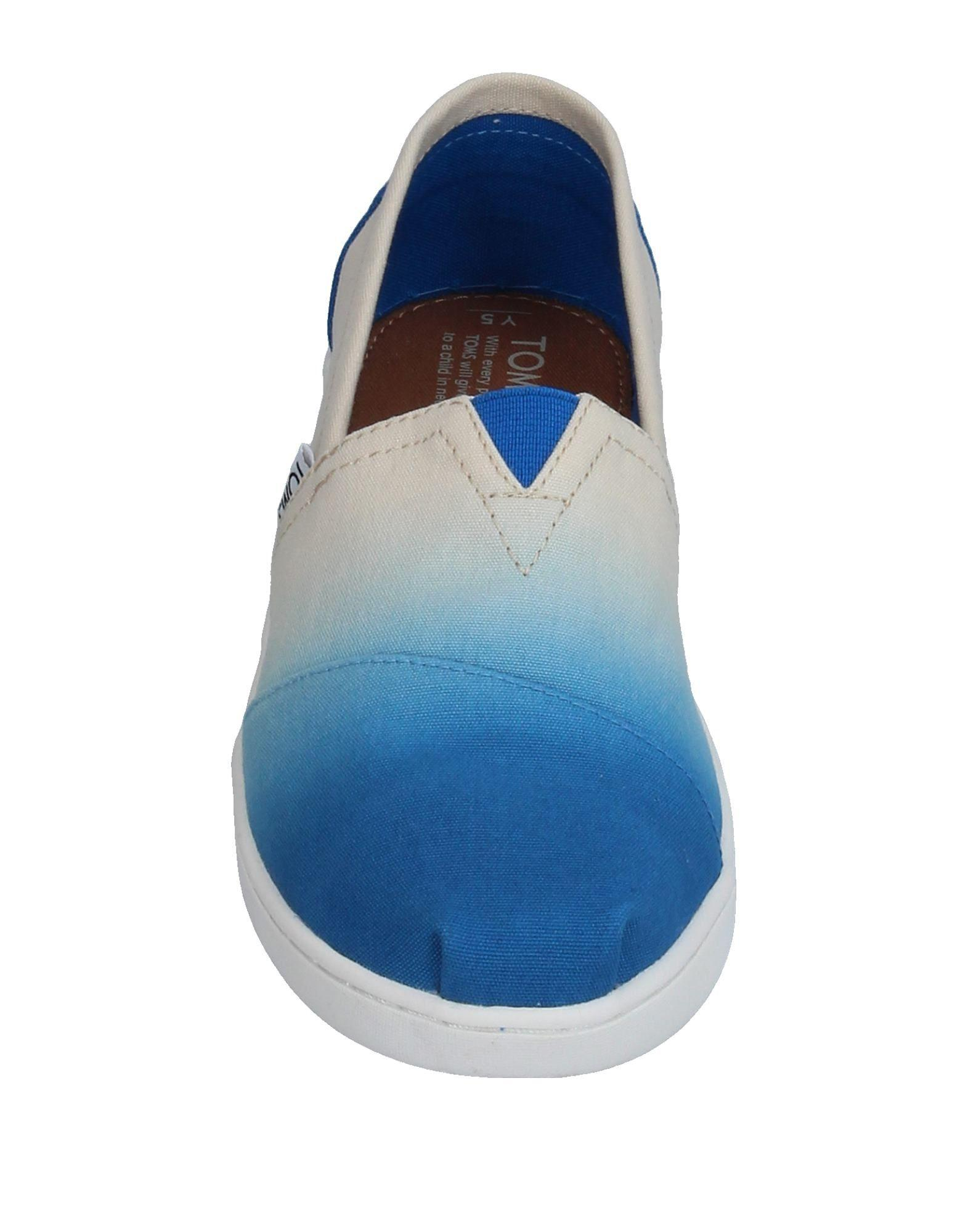 TOMS Canvas Low-tops & Sneakers in Azure (Blue)