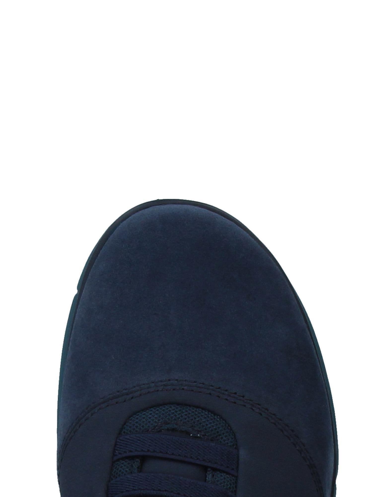 Geox Suede Low-tops & Sneakers in Slate Blue (Blue)