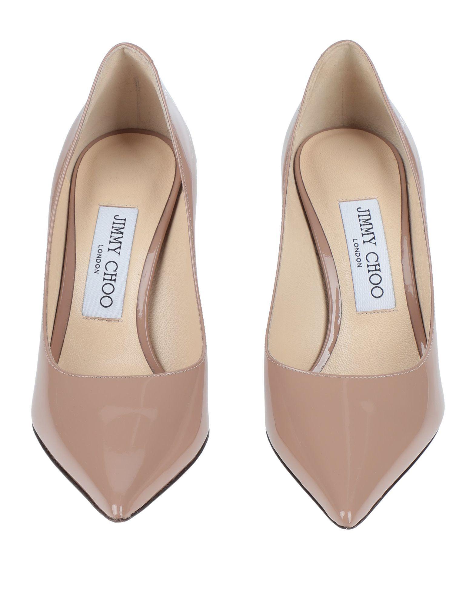 Zapatos de salón Jimmy Choo de Cuero de color Rosa