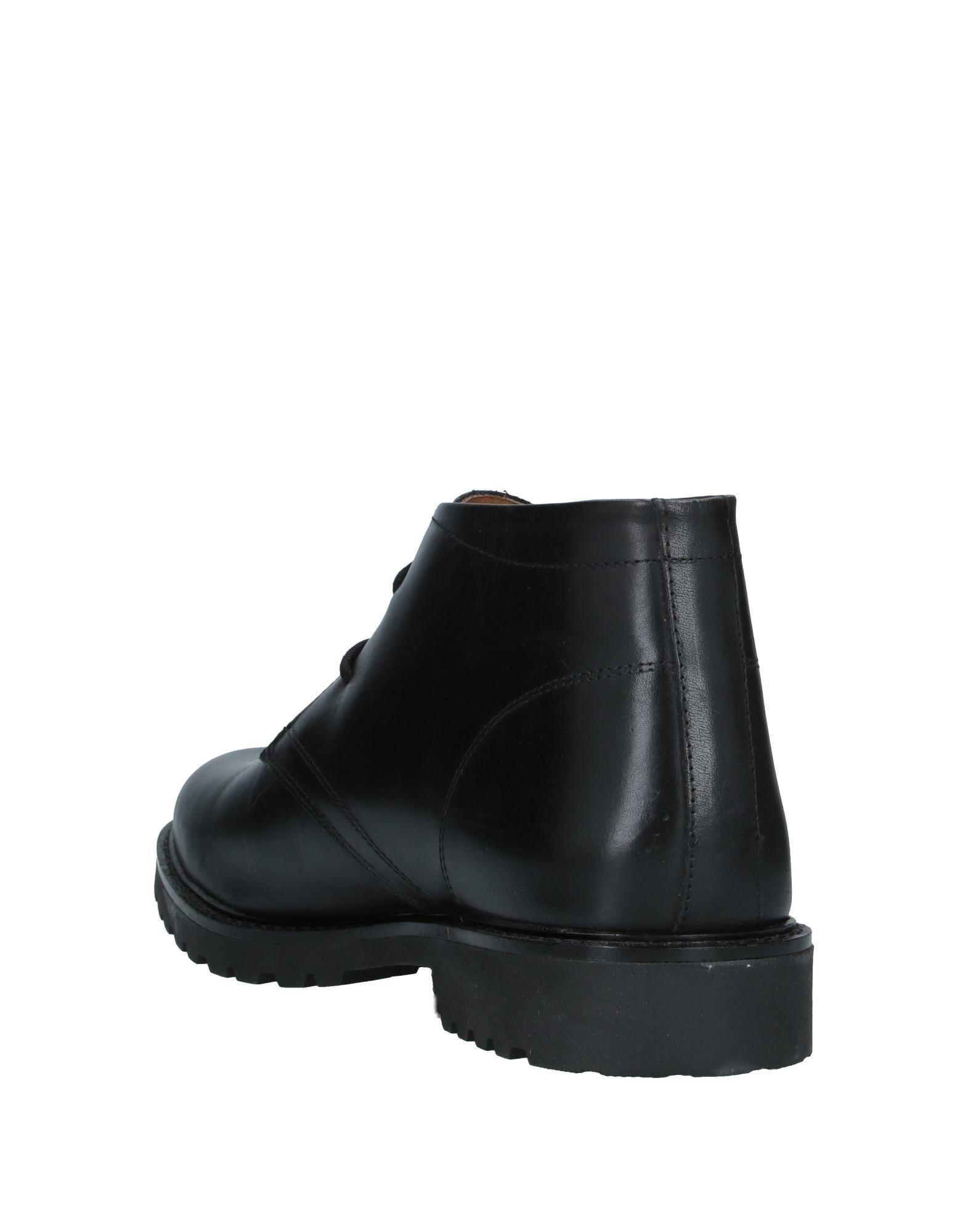 Botines de caña alta Trussardi de Cuero de color Negro para hombre