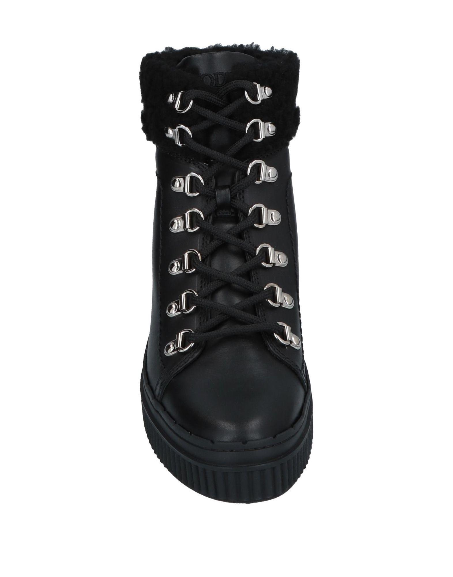 Botines de caña alta Tod's de color Negro