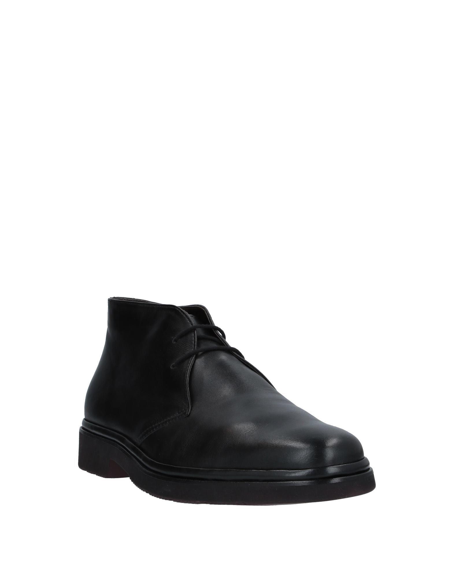 Botines de caña alta Aldo Brue' de Caucho de color Negro para hombre