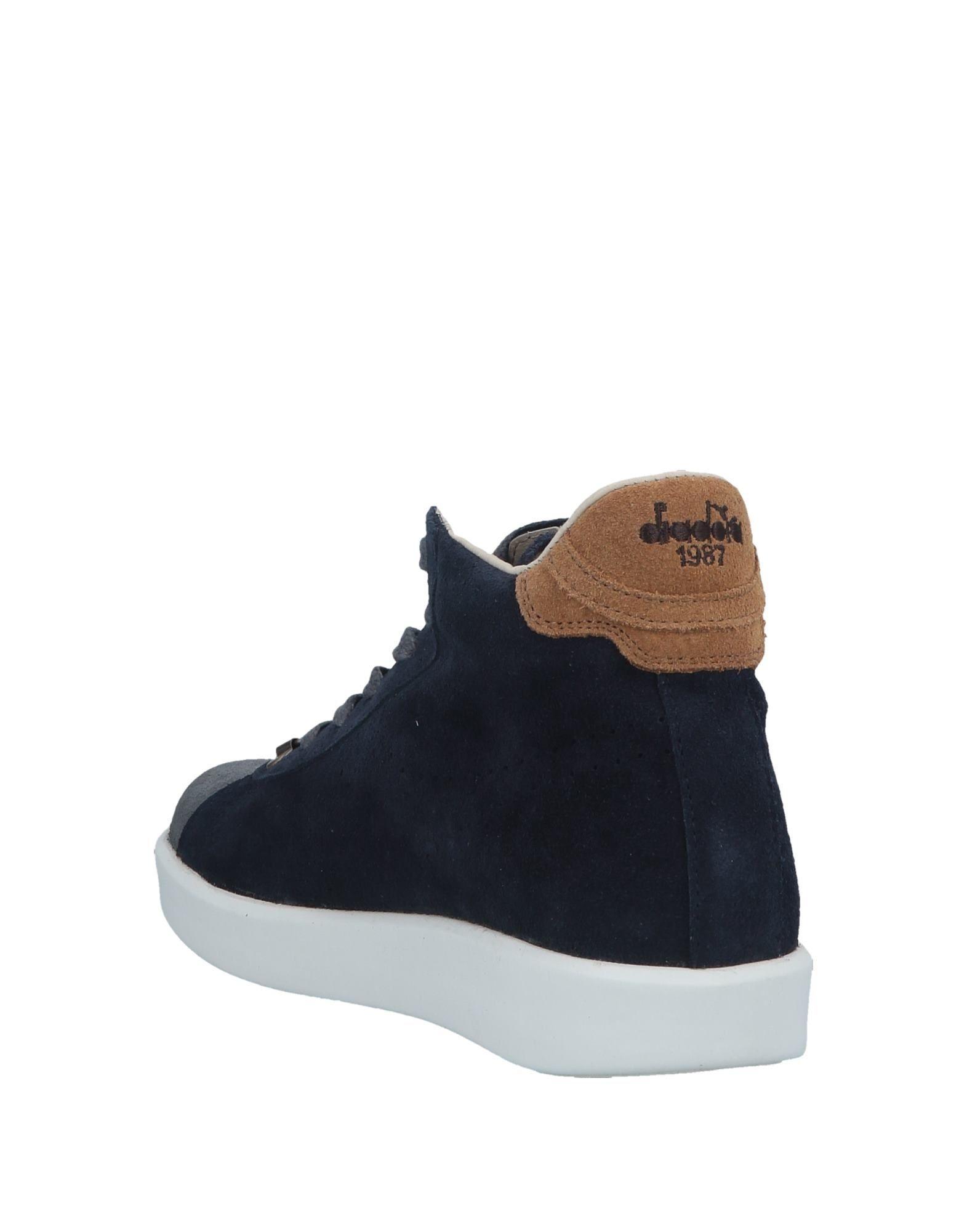 Sneakers abotinadas Diadora de hombre de color Gris