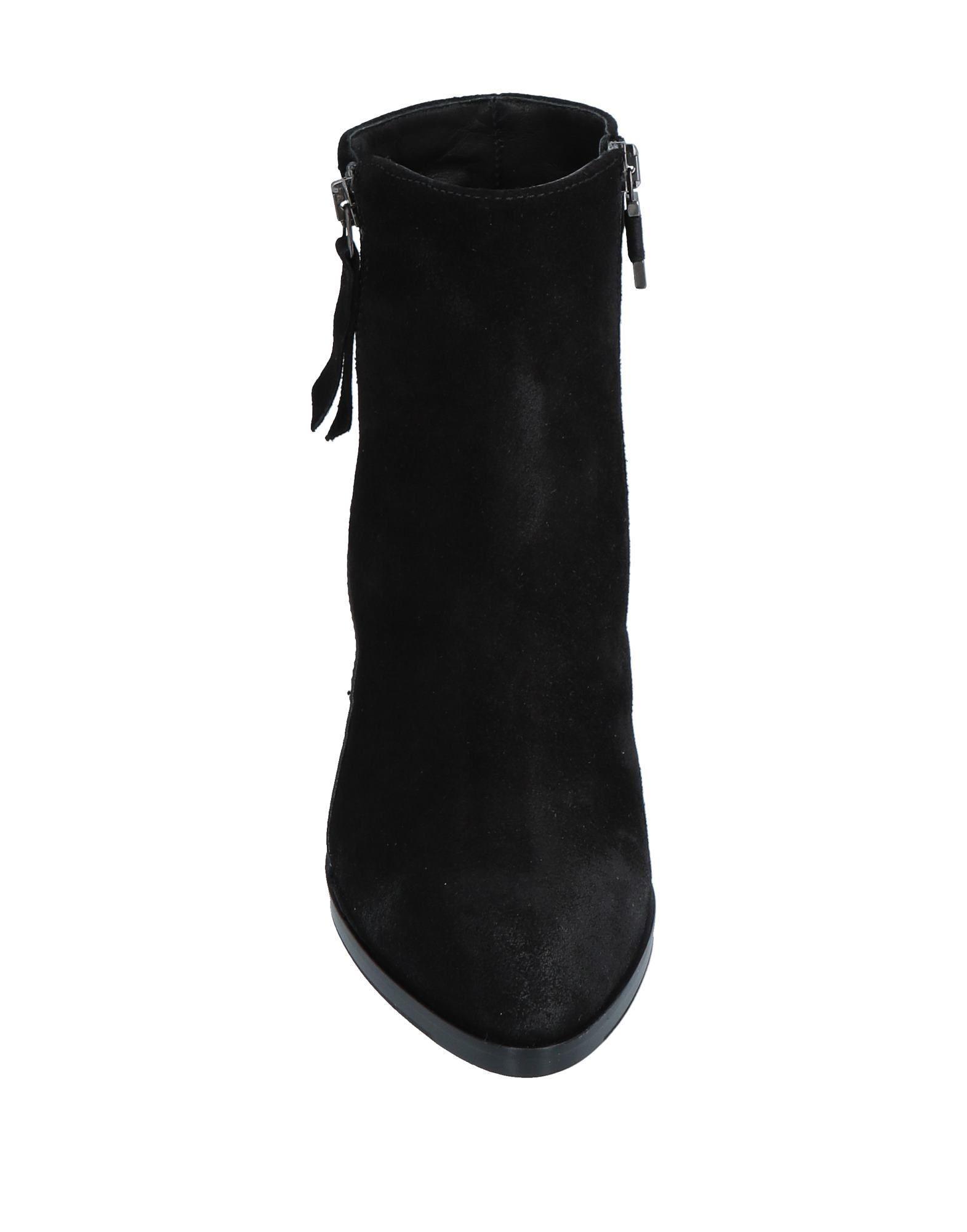Botines de caña alta Alberto Fermani de Ante de color Negro