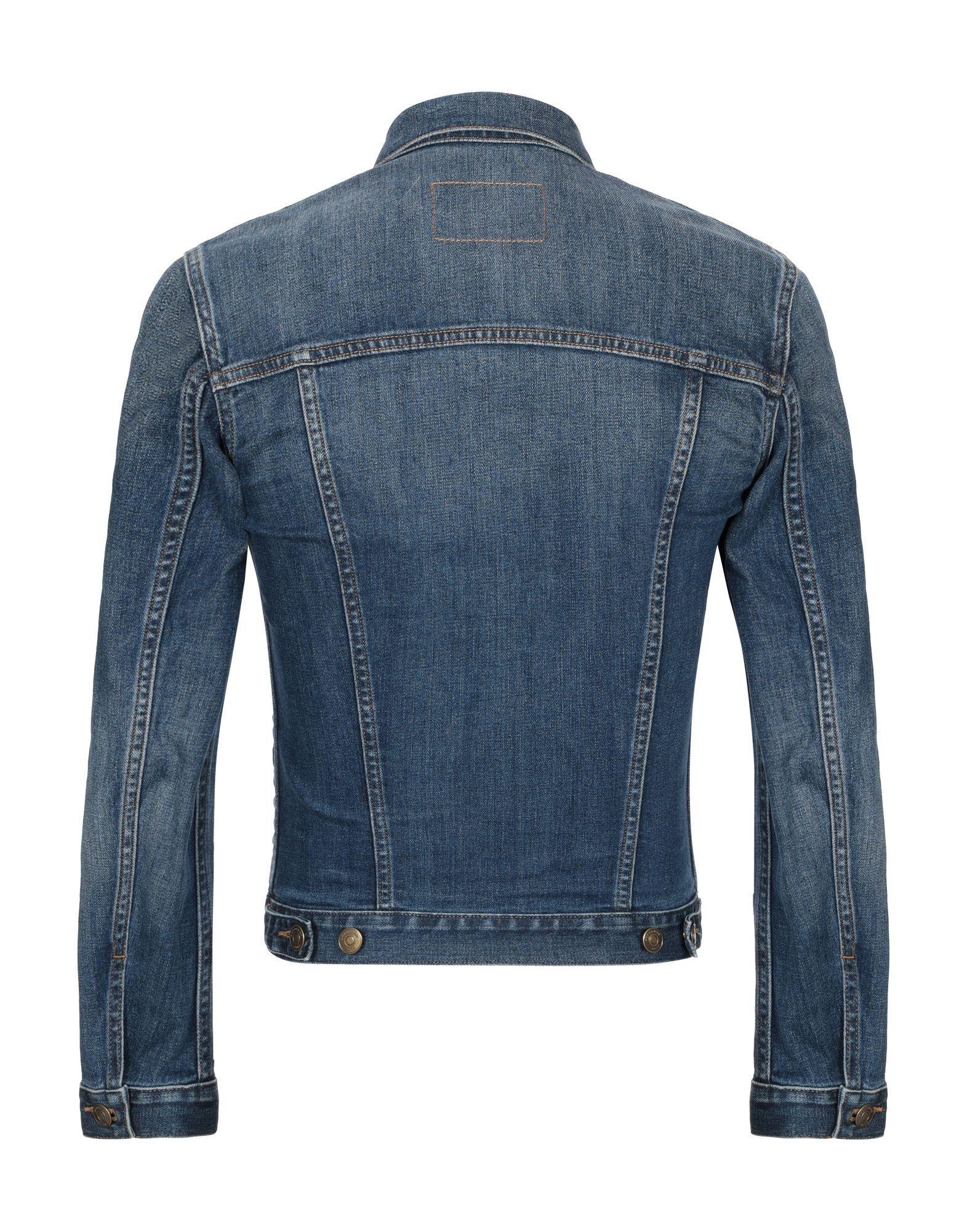 Manteau en jean Jean Burberry pour homme en coloris Bleu XZU2M