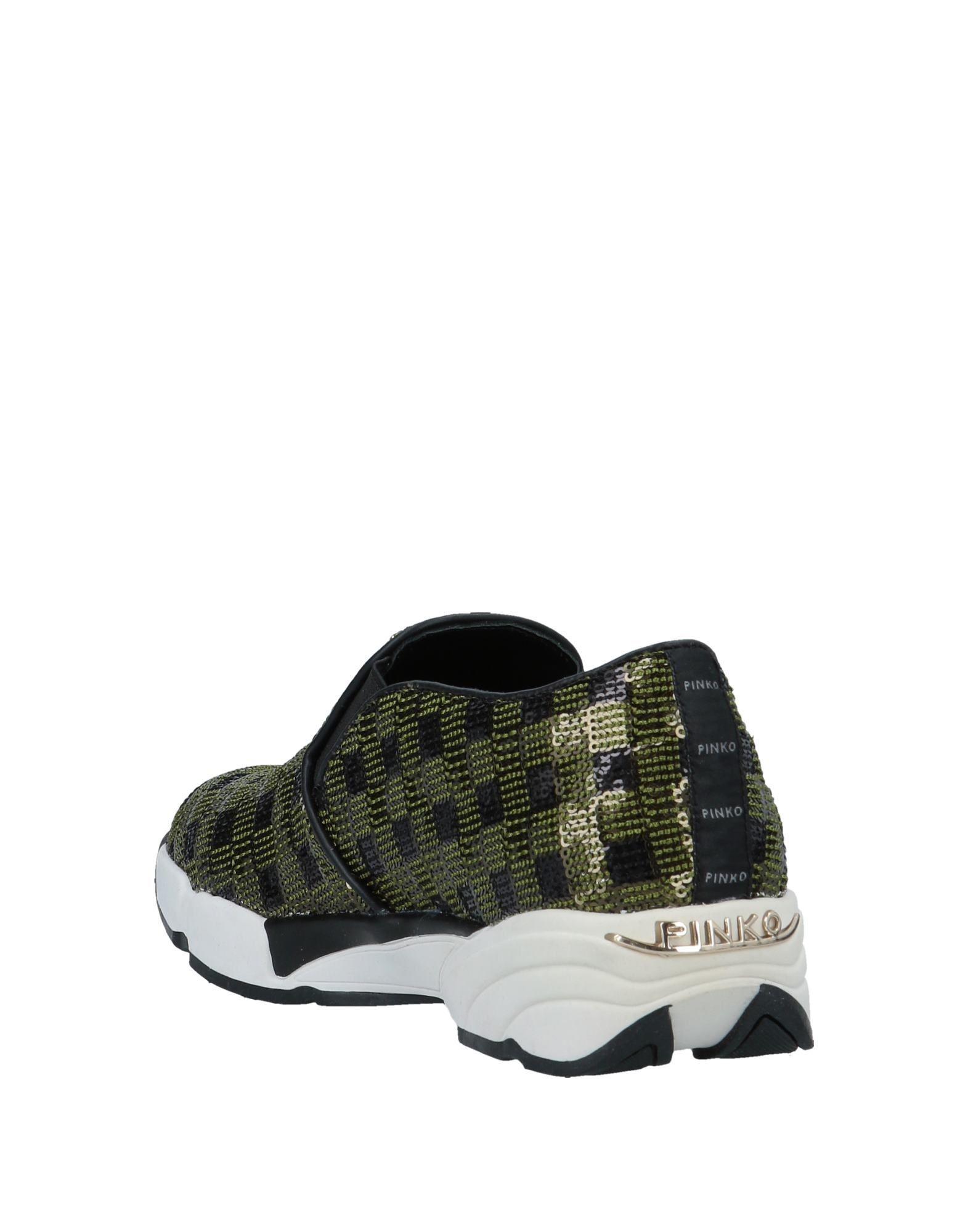 Sneakers & Deportivas Pinko de Cuero de color Verde