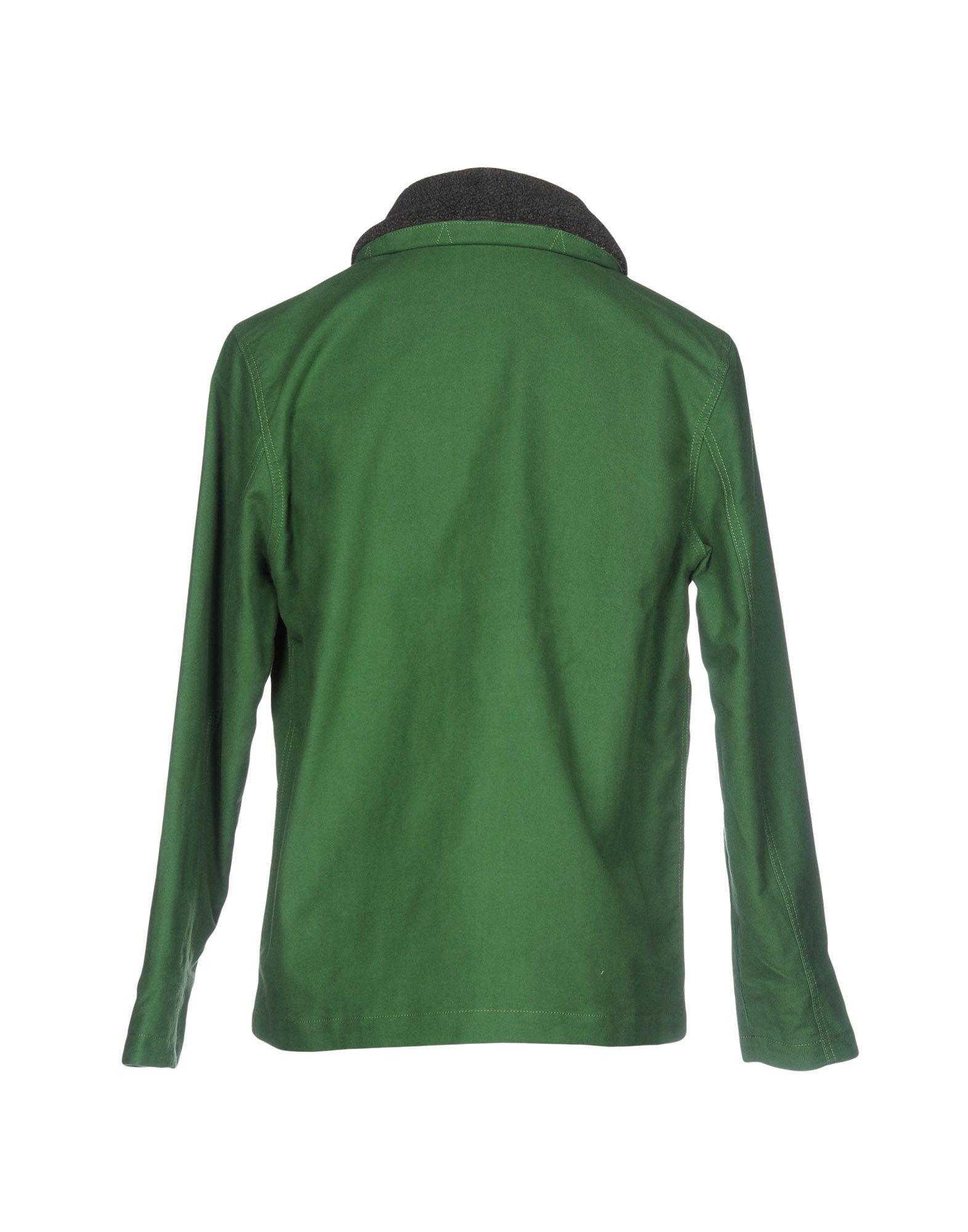 Poler Flannel Jacket in Green for Men