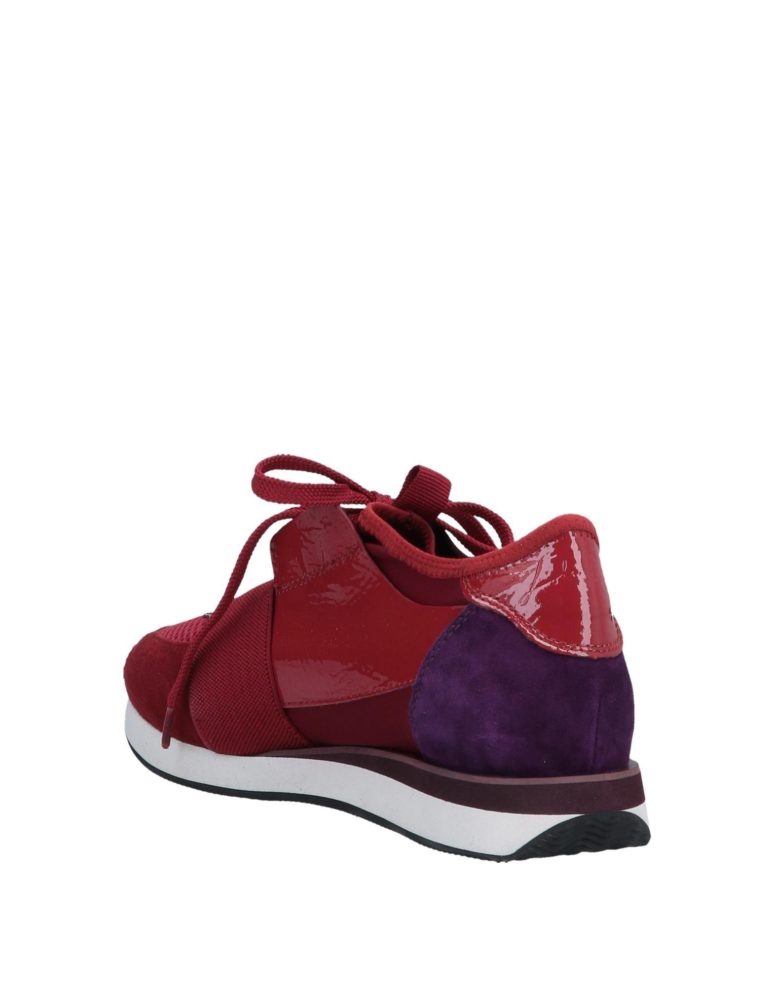 Sneakers & Deportivas Lola Cruz de Cuero de color Rojo