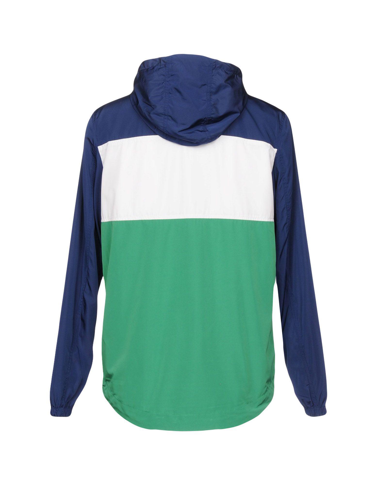 Wrangler Synthetic Jacket in Green for Men