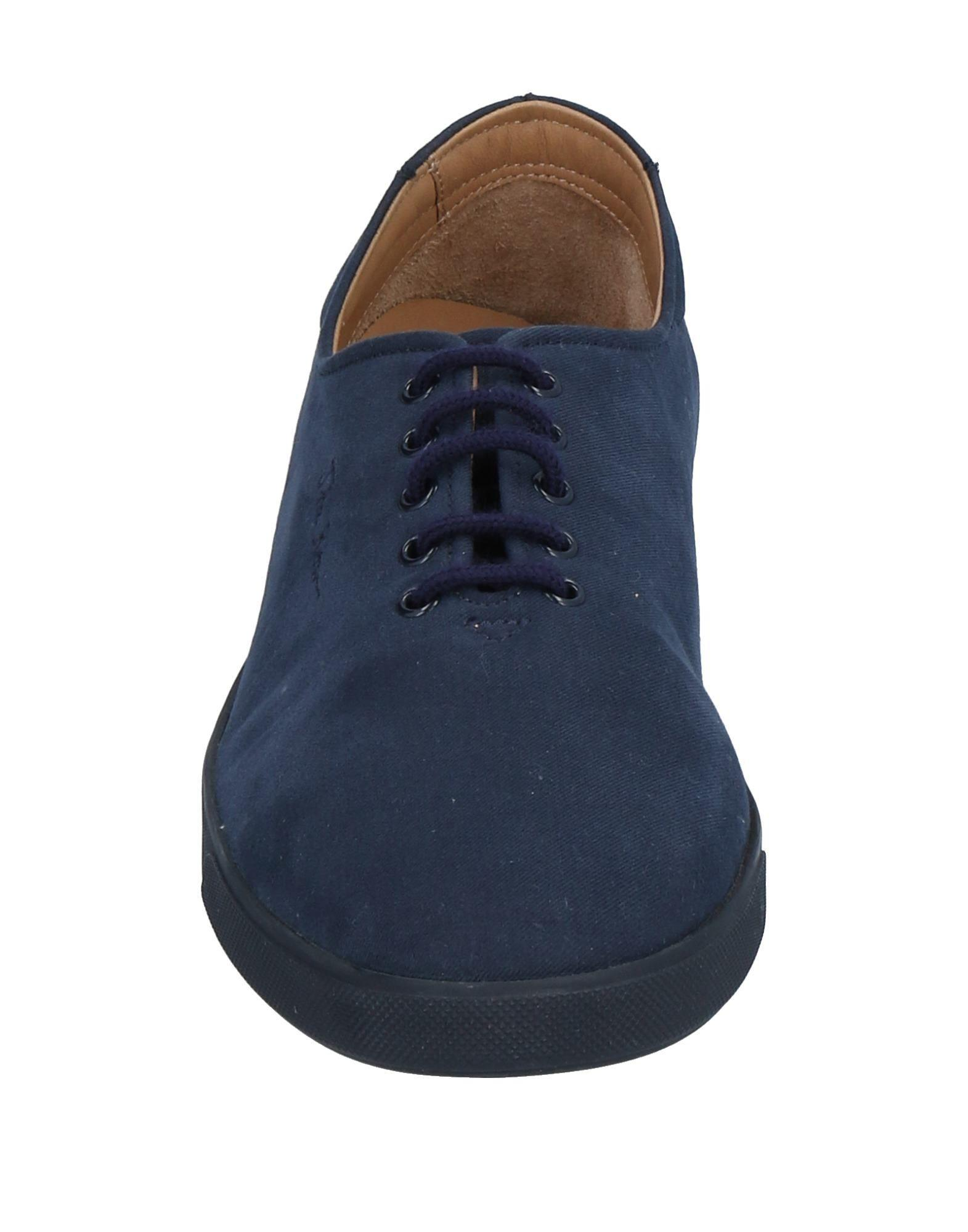 The Row Leather Low-tops & Sneakers in Dark Blue (Blue)