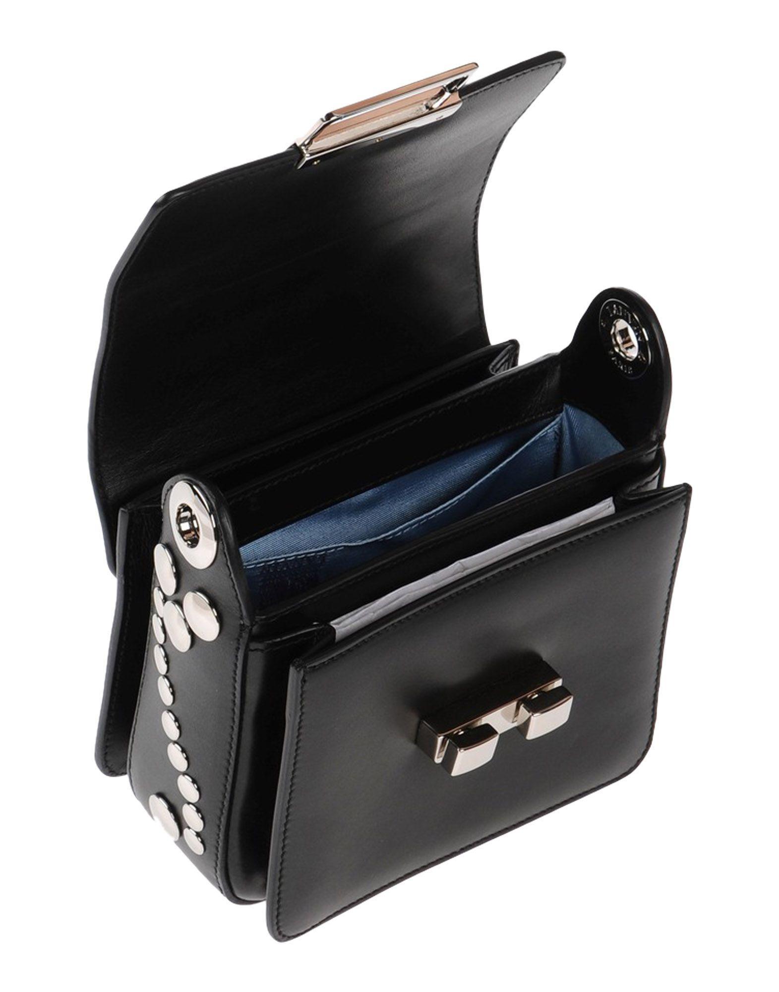 Lanvin Leather Cross-body Bag in Black