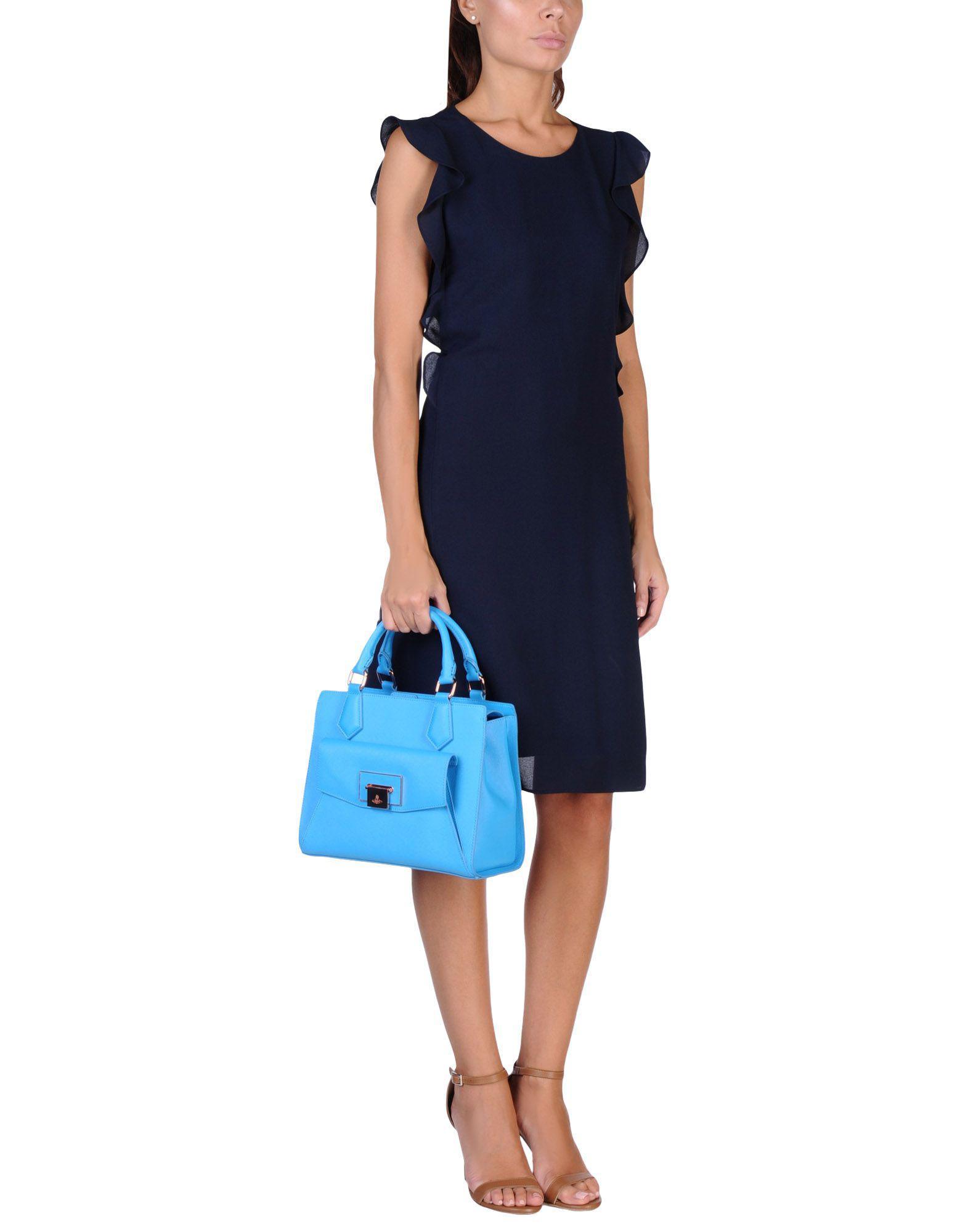 lyst vivienne westwood handbag in blue. Black Bedroom Furniture Sets. Home Design Ideas