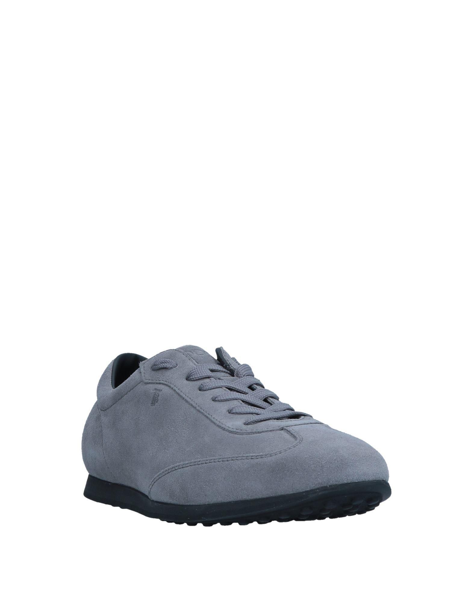 Sneakers & Deportivas Tod's de Ante de color Gris para hombre