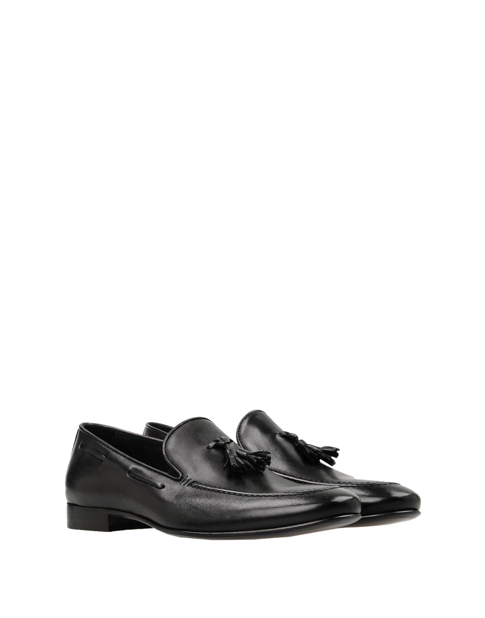 Maldini Leather Loafer in Black for Men