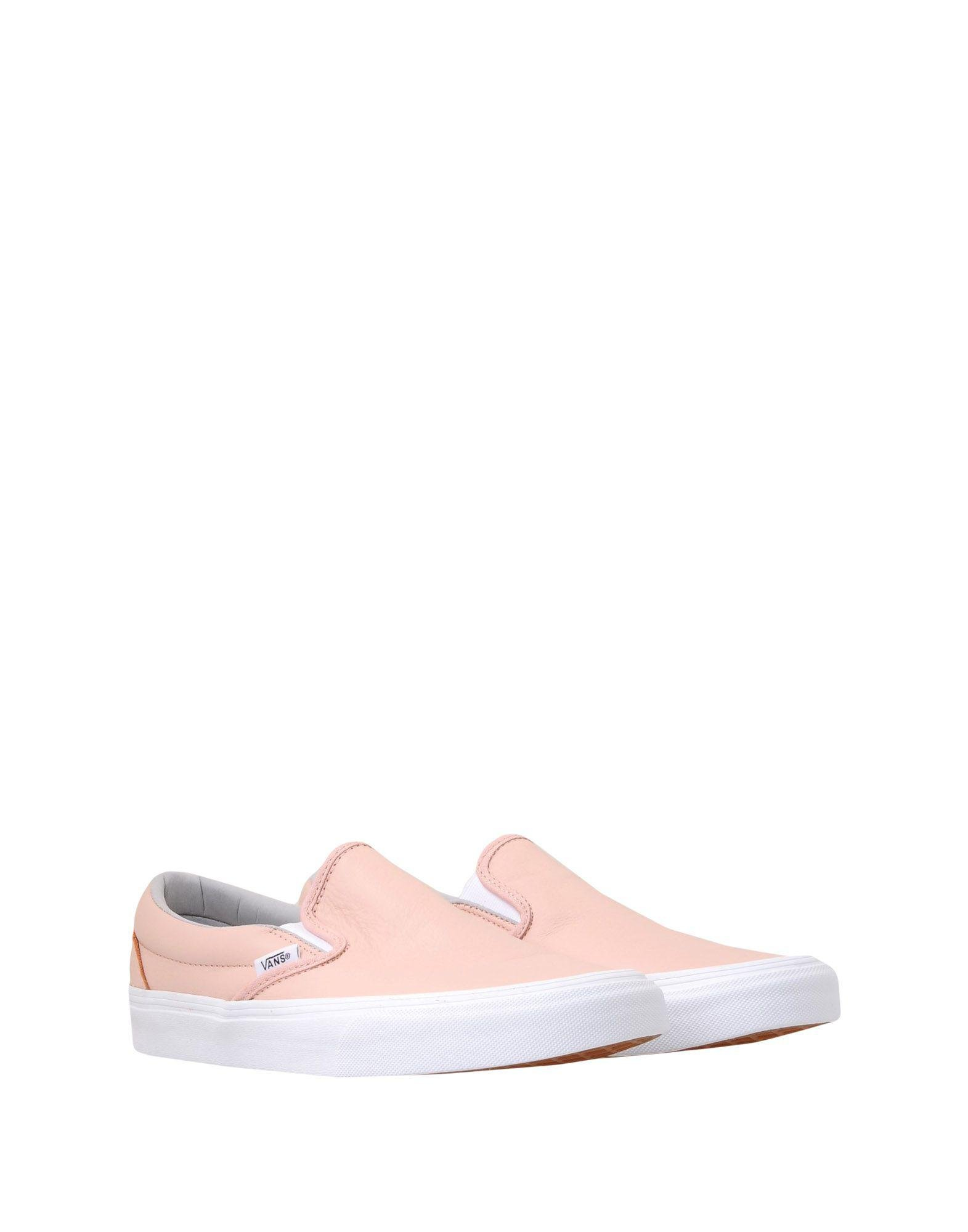 Vans Leather Low-tops & Sneakers in Pale Pink (Pink)