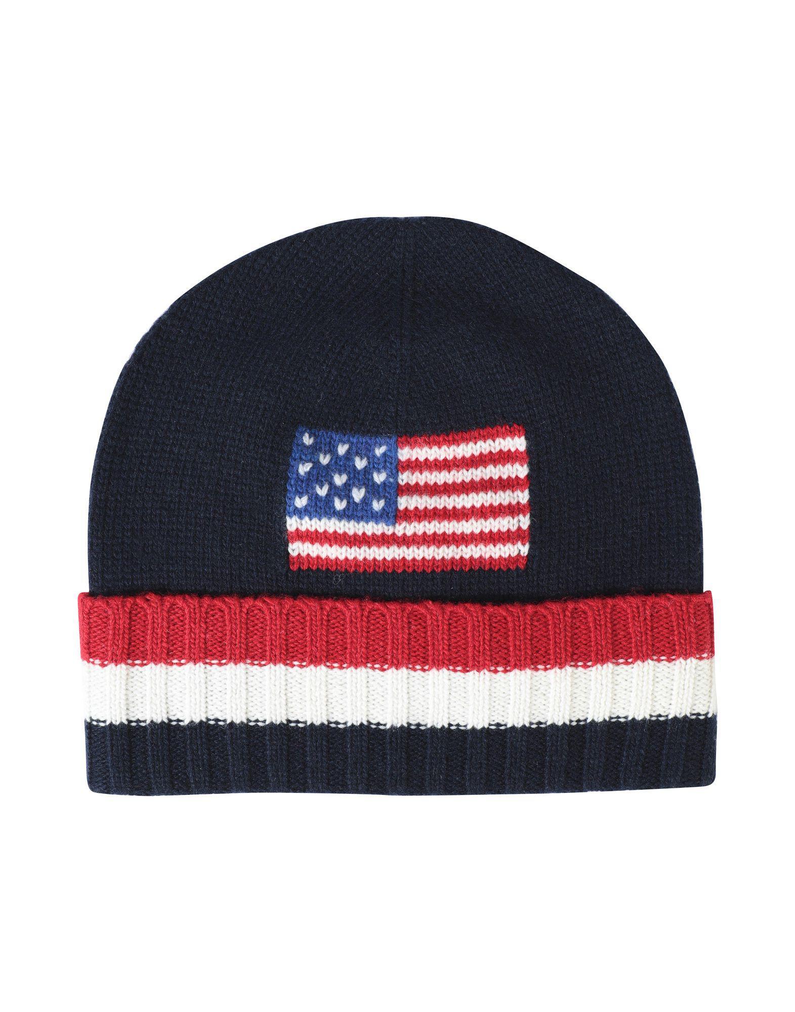 a93eb4b0de3 Polo Ralph Lauren Hat in Blue for Men - Save 2.0% - Lyst