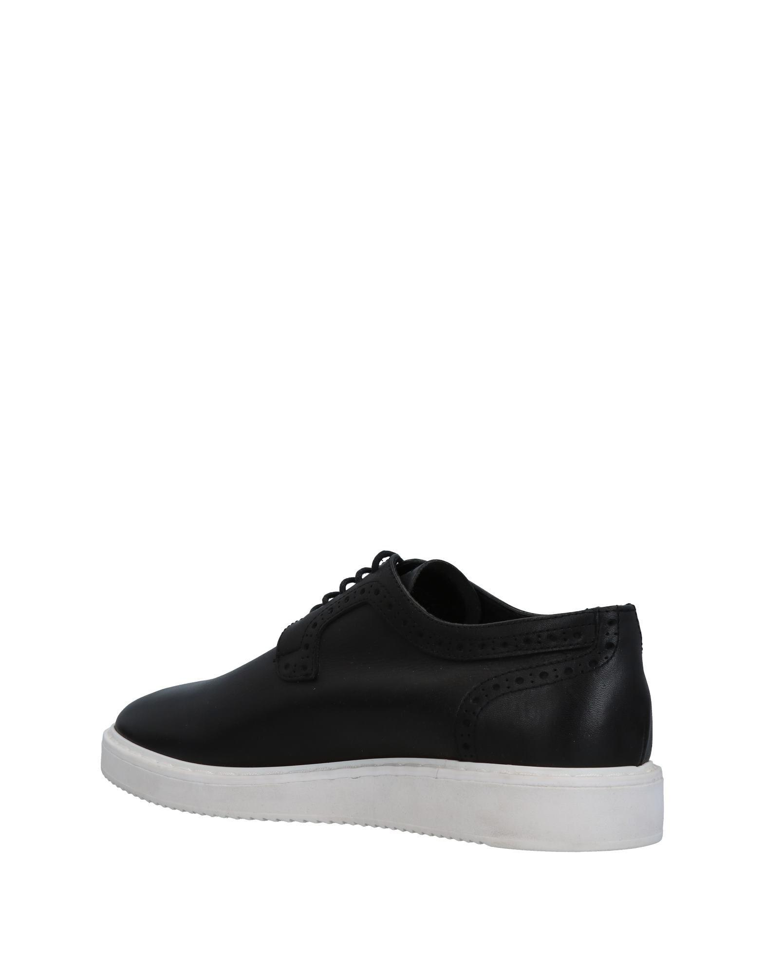 Antony Morato Leather Lace-up Shoe in Black for Men