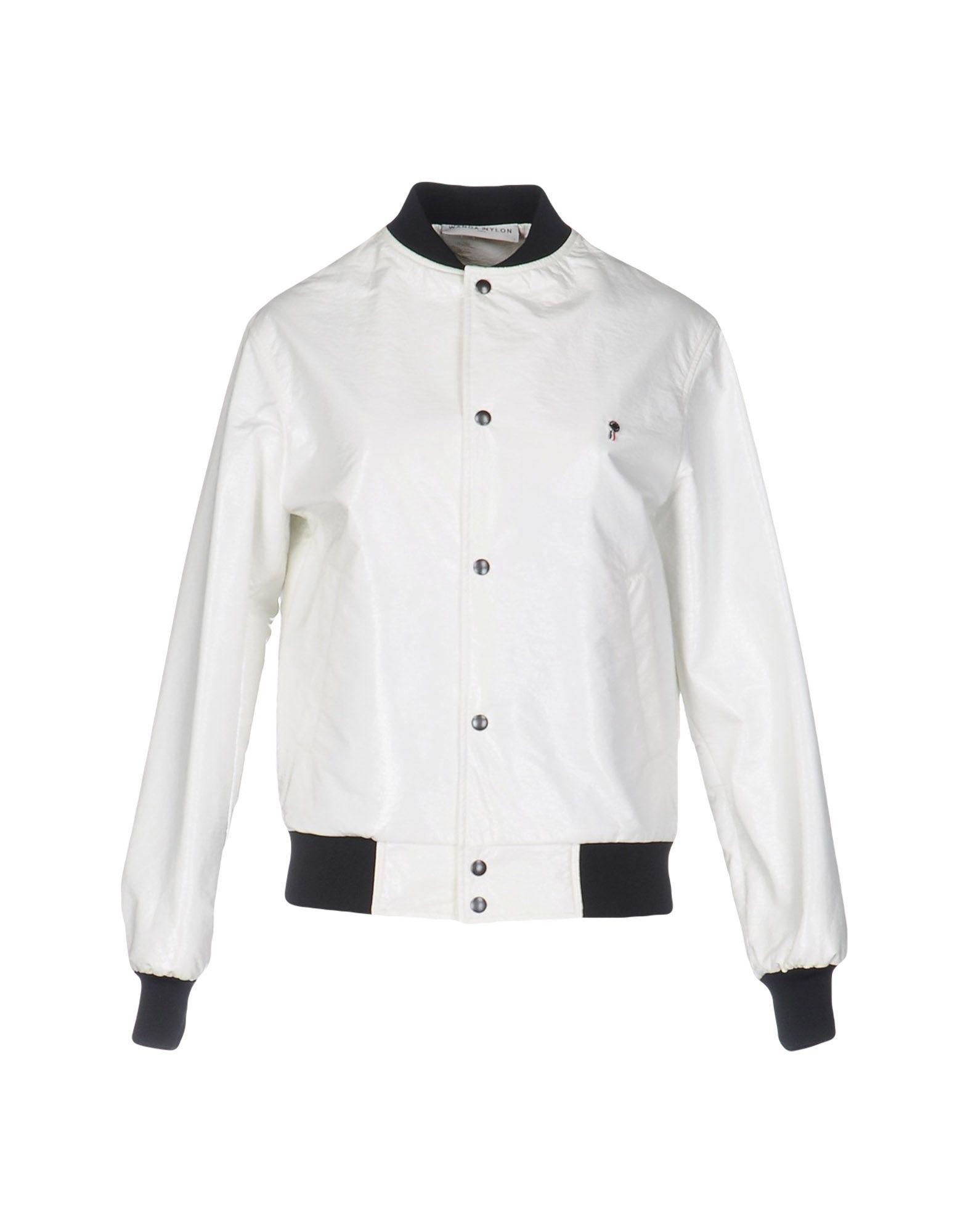 White Nylon Jackets 72