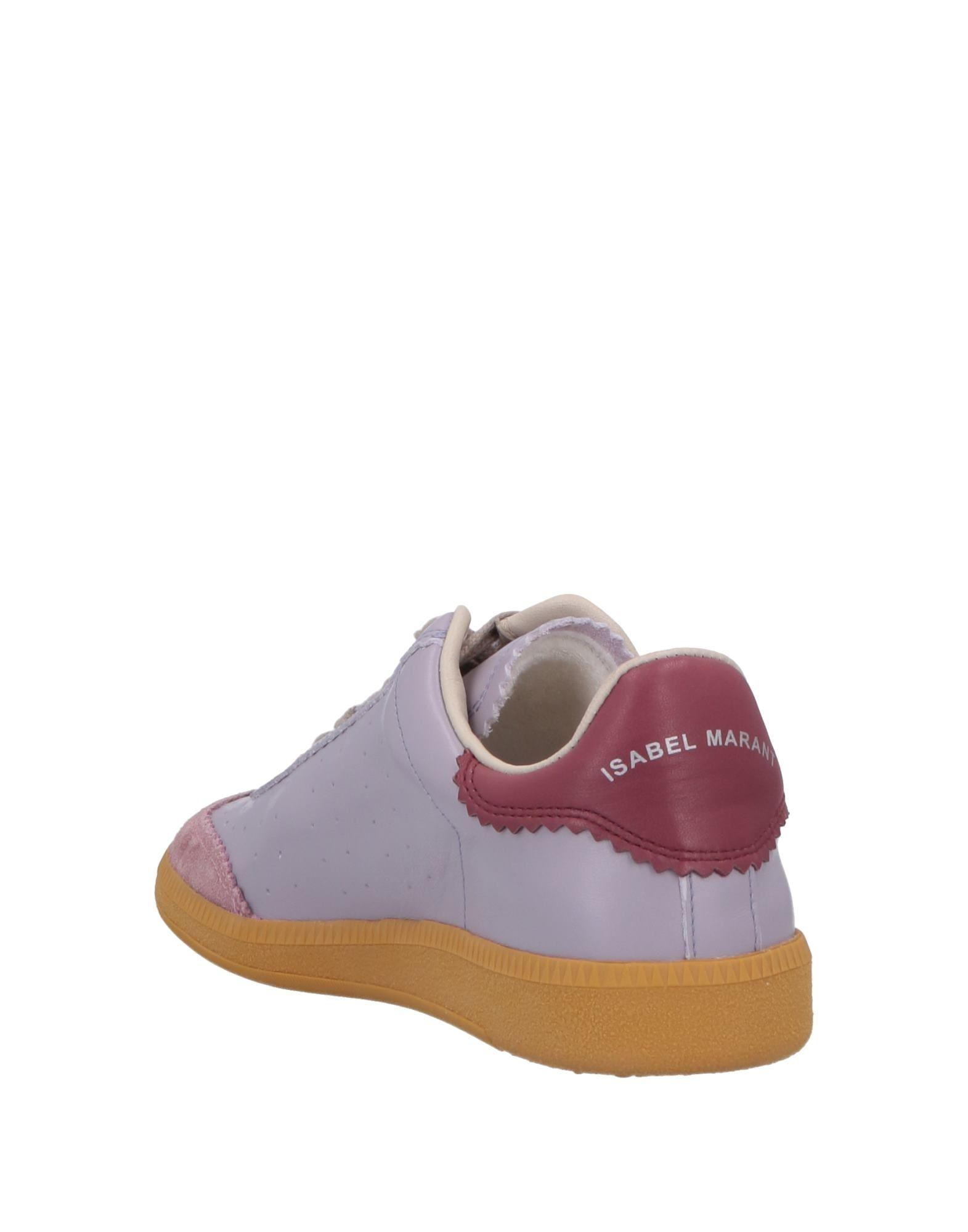 Isabel Marant Leather Low-tops & Sneakers in Lilac (Purple)