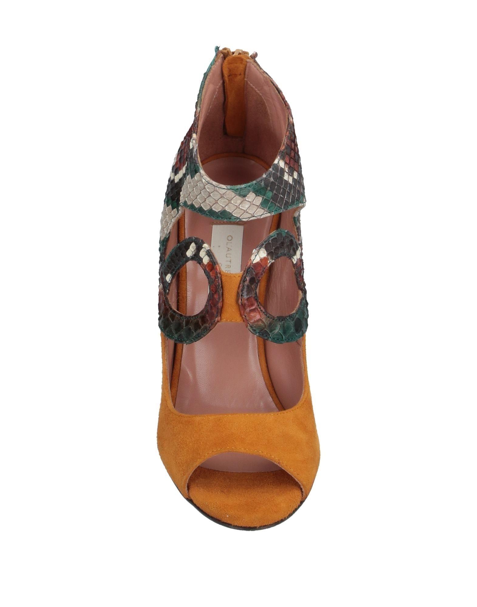 Zapatos de salón L'Autre Chose de color Marrón