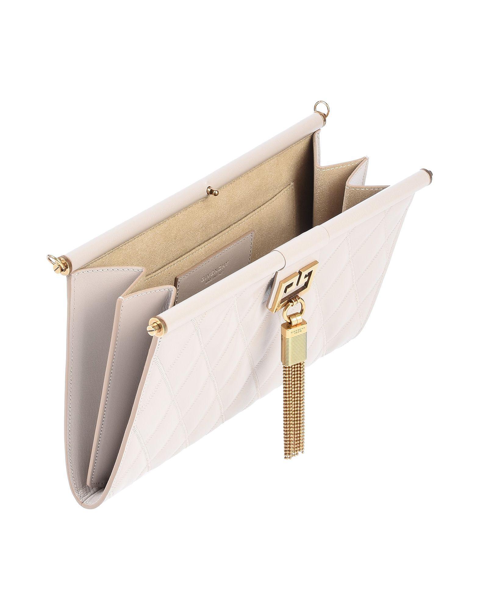 Givenchy Leder Handtaschen in Grau uKzCR