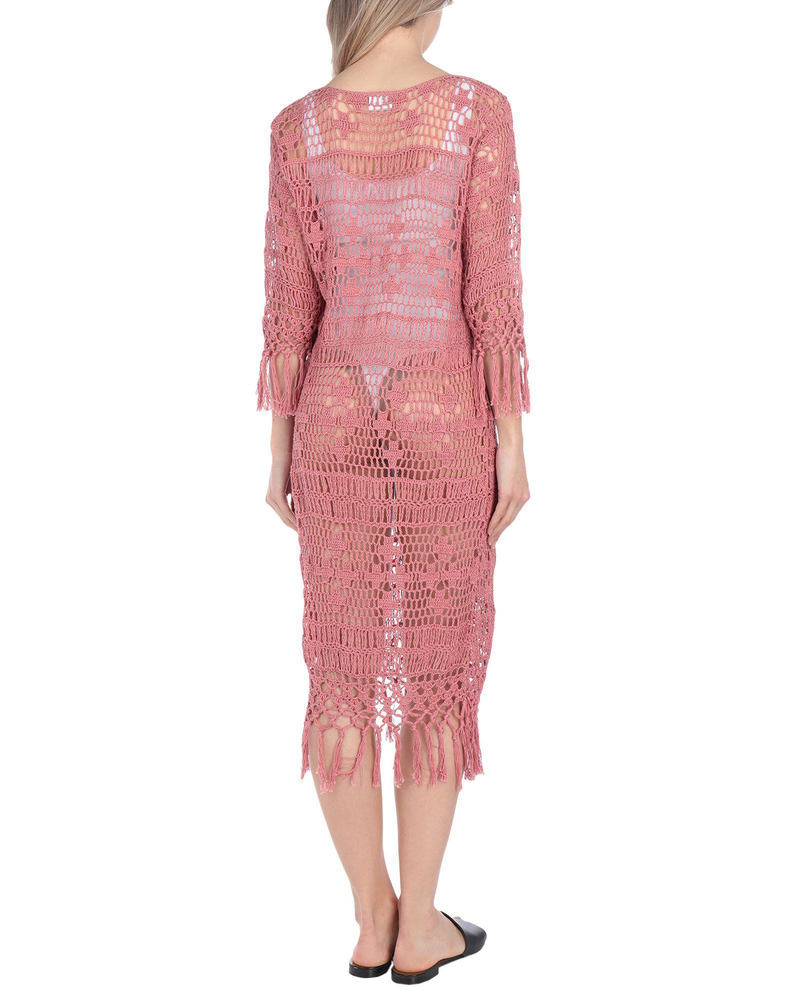 56acda09fbb9e Anna Kosturova Cover-up in Pink - Lyst