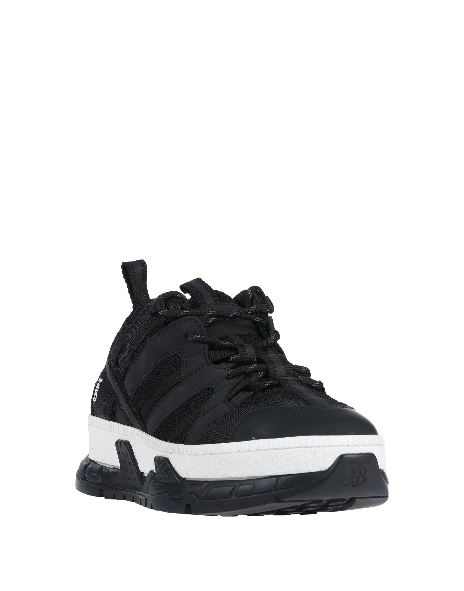 Sneakers & Deportivas Burberry de Caucho de color Negro para hombre
