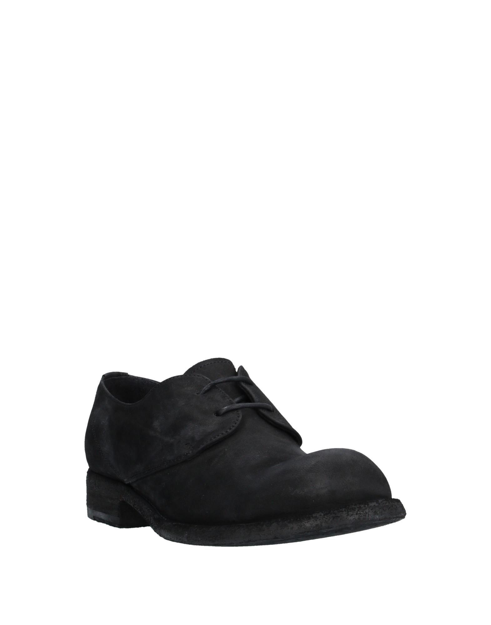 Zapatos de cordones Officine Creative de Cuero de color Negro