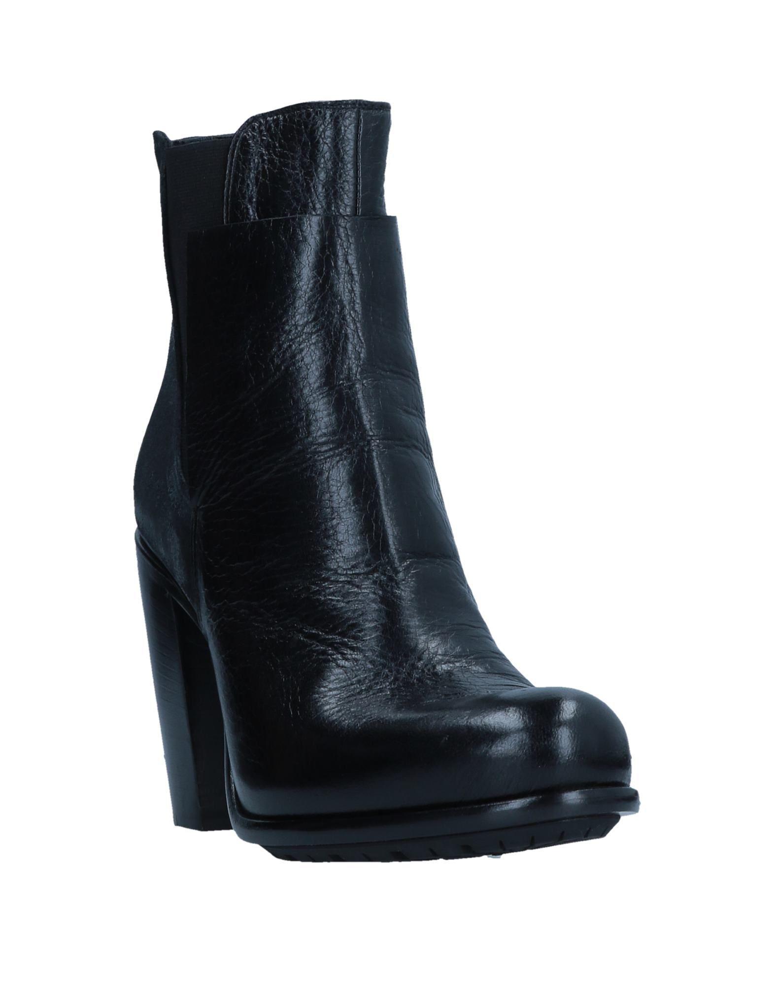 Botines de caña alta Rocco P de Cuero de color Negro