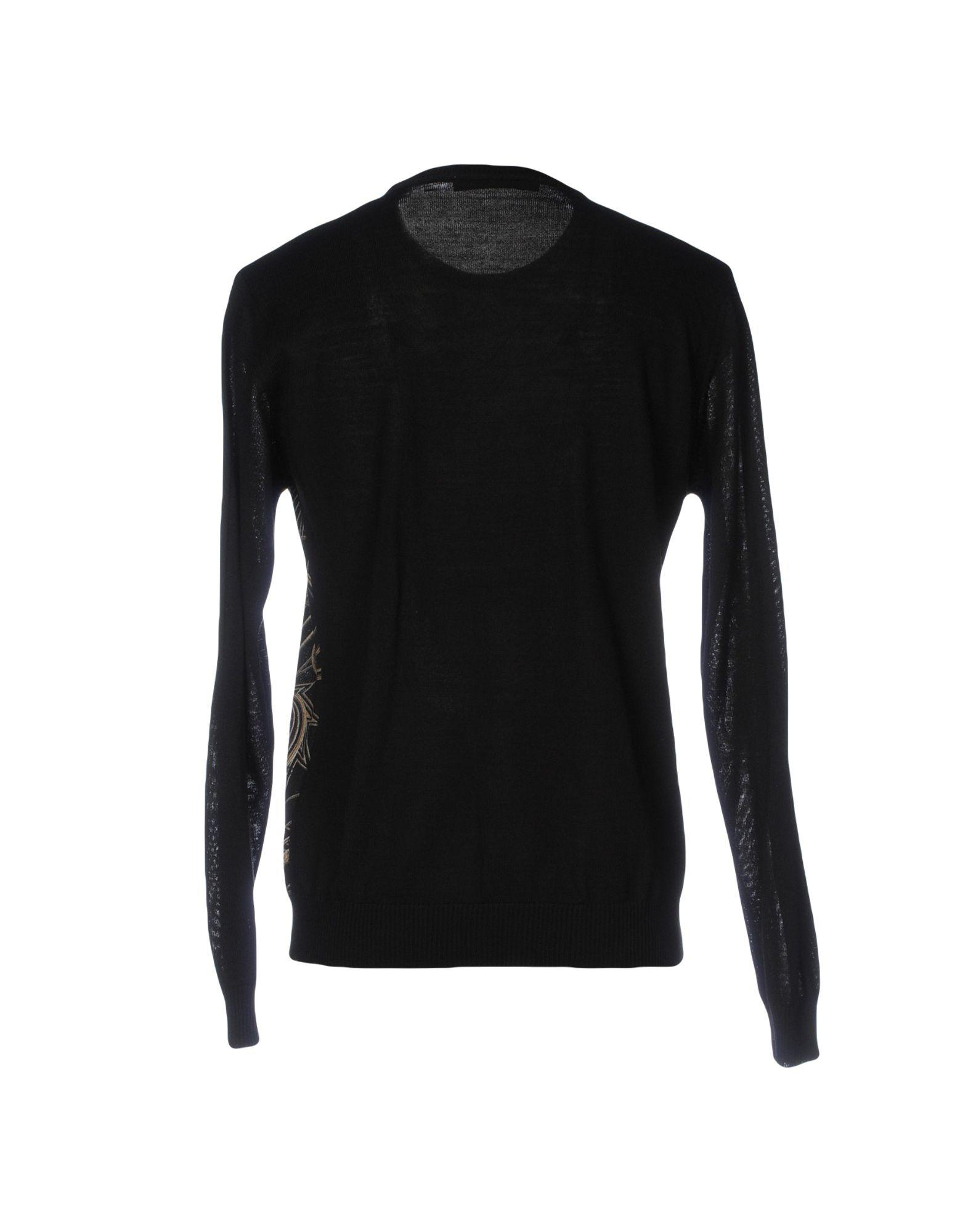 Versace Jeans Couture Synthetic Sweater in Black for Men